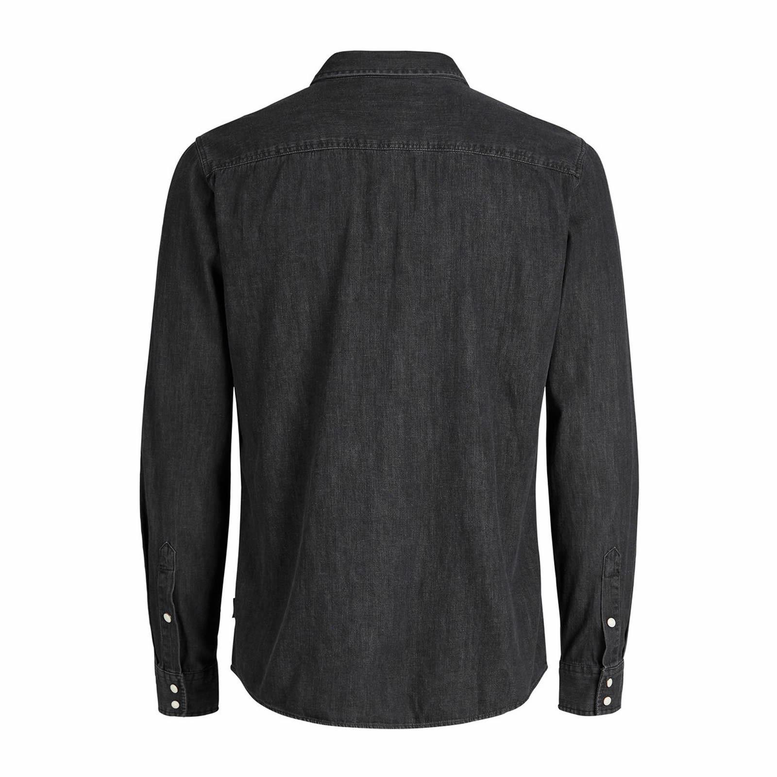 e18968dc492 JACK   JONES One Mens Denim Shirt Long Sleeve Collared Denim Top