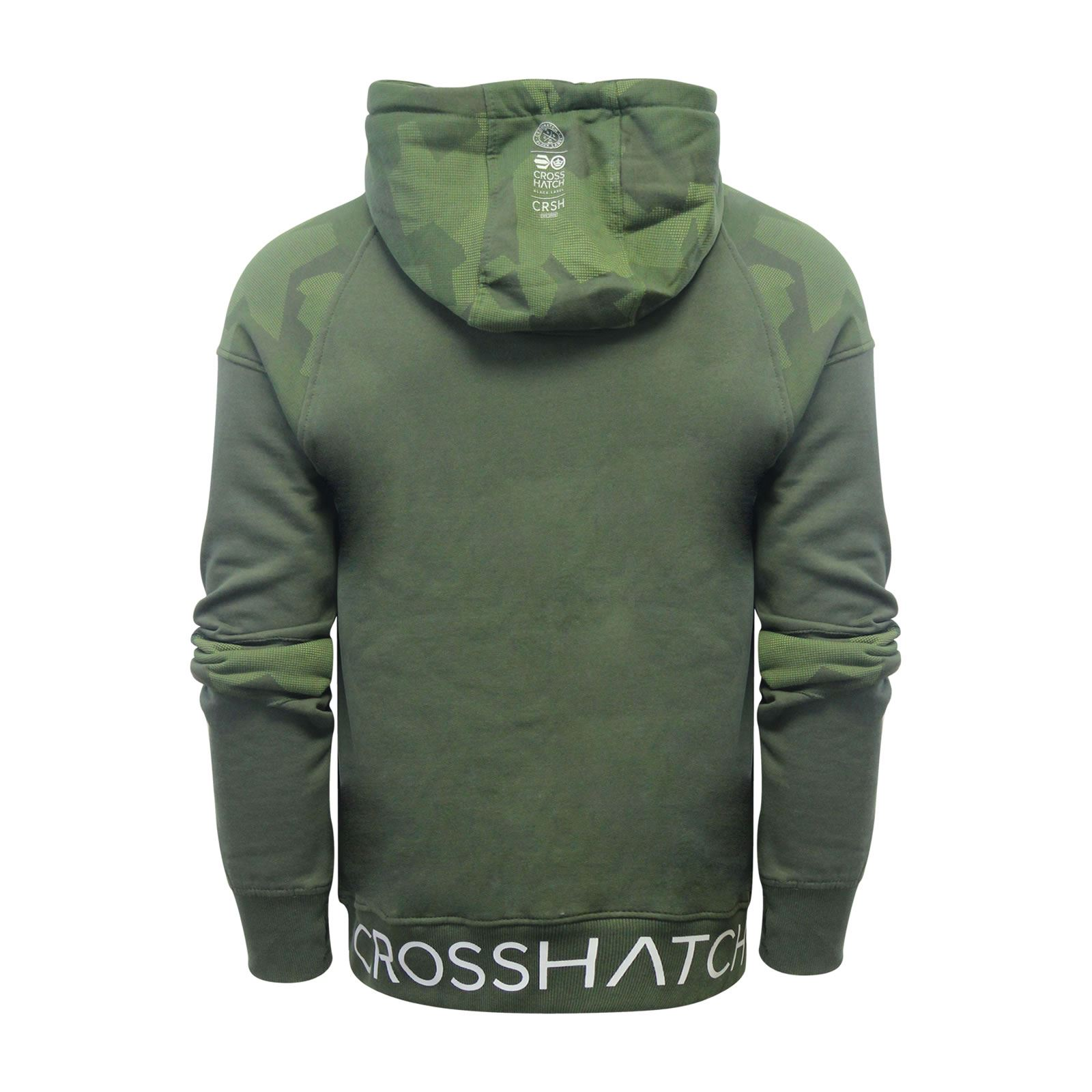 Crosshatch-Quirn-Mens-Hoodie-Cotton-Hooded-Pull-Over-Sweater thumbnail 3