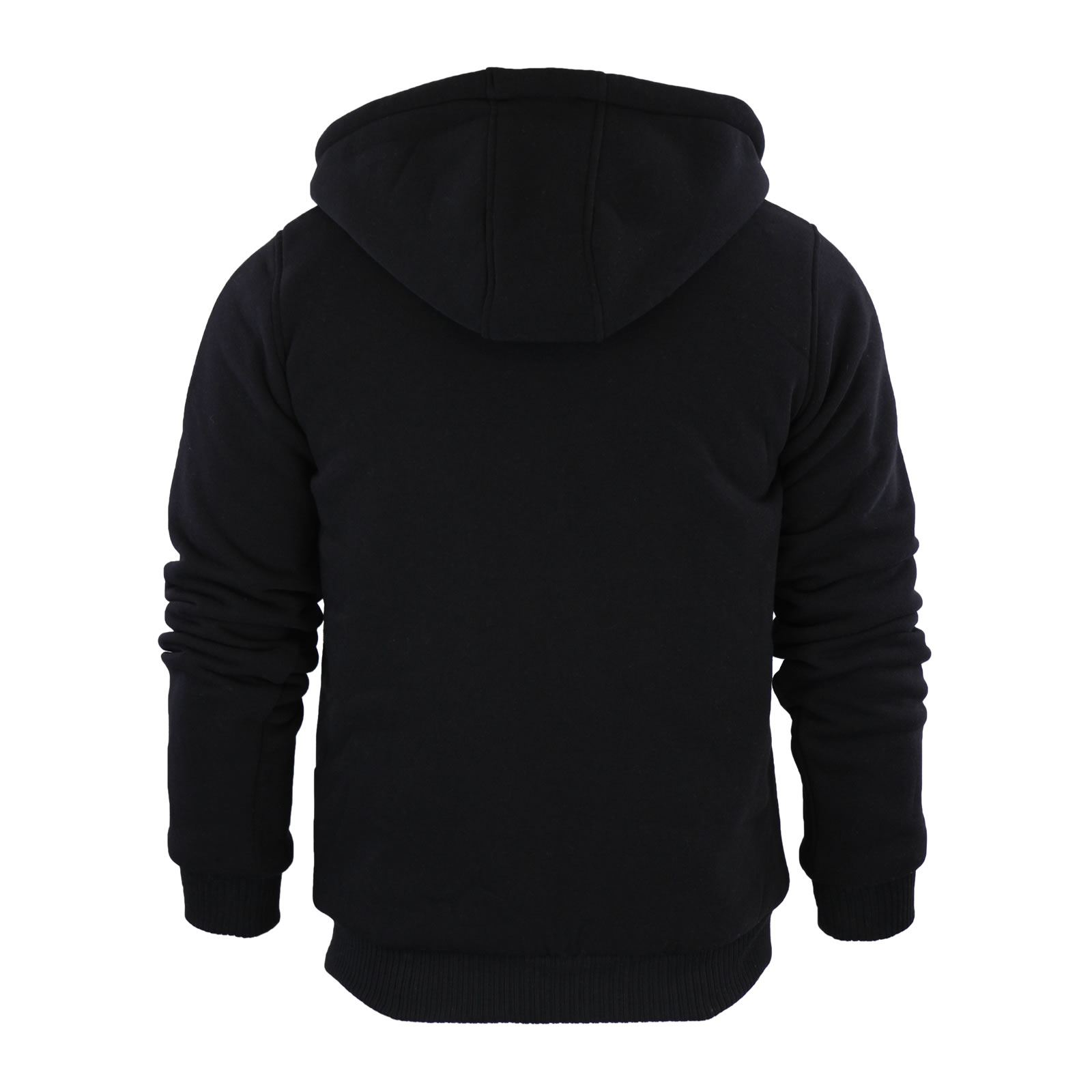 Mens-Hoodie-Brave-Soul-Zone-Sherpa-Fleece-Lined-Zip-Up-Hooded-Sweater thumbnail 21