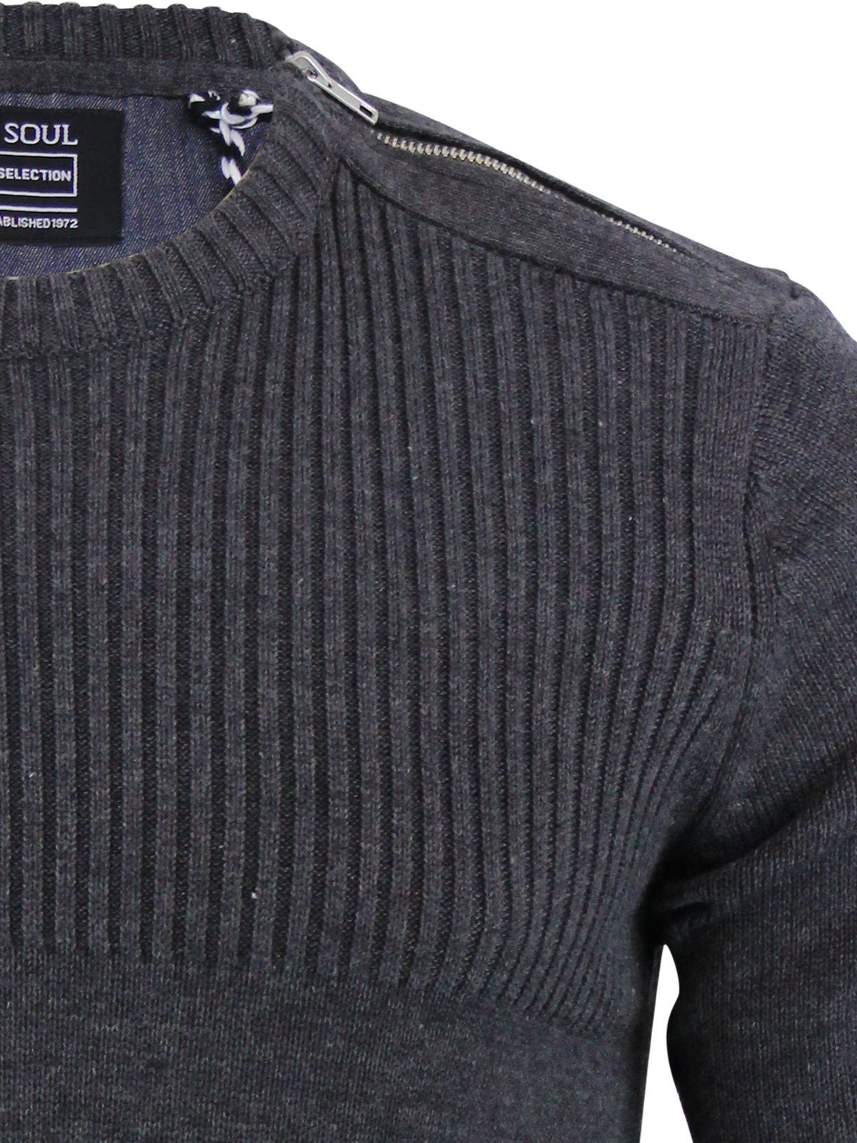 miniature 160 - Pull-Homme-Brave-Soul-Divers-Pull