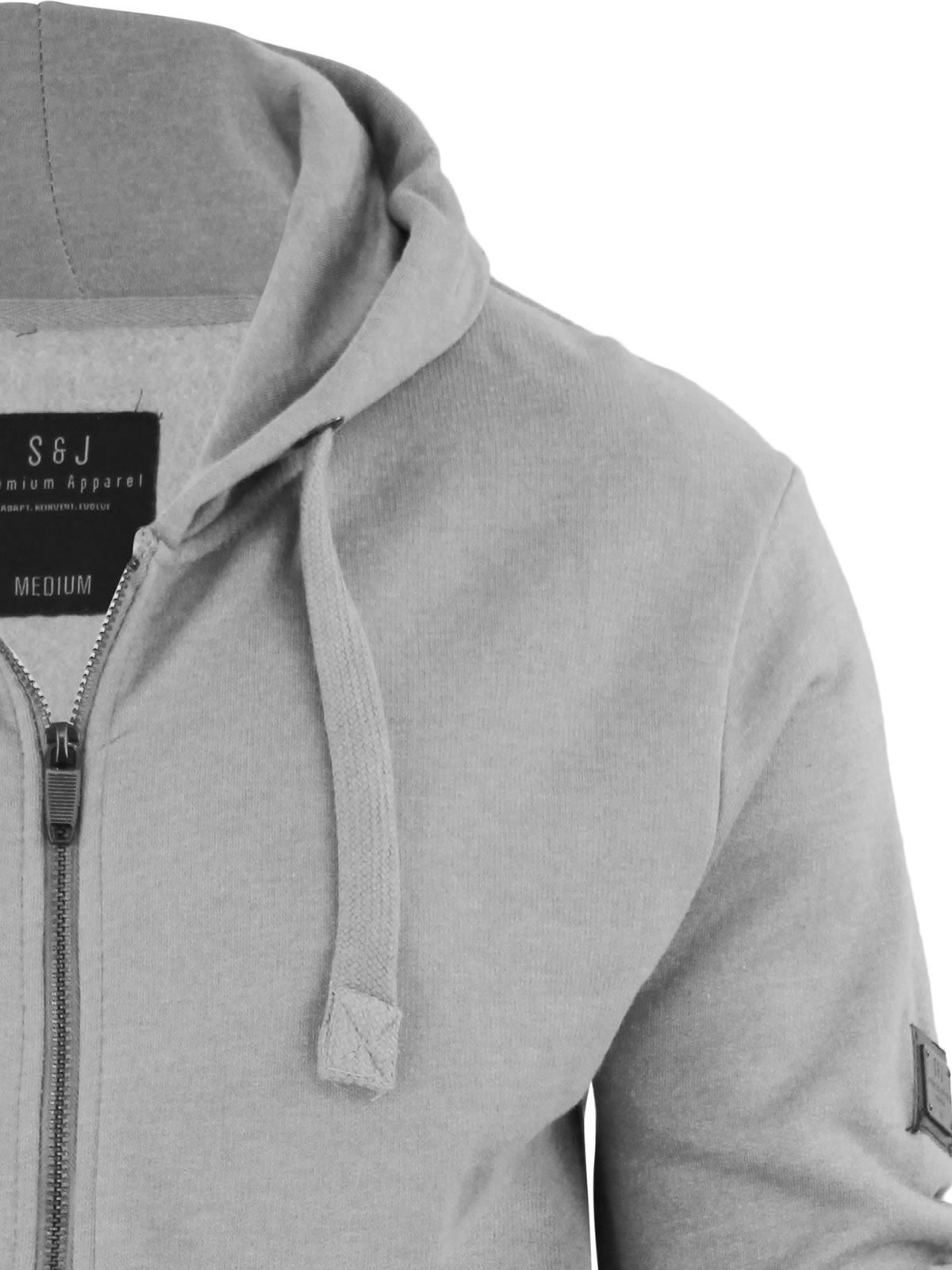 Mens-Hoodie-Smith-amp-Jones-Zip-Up-Hooded-Sweater-Jumper thumbnail 28