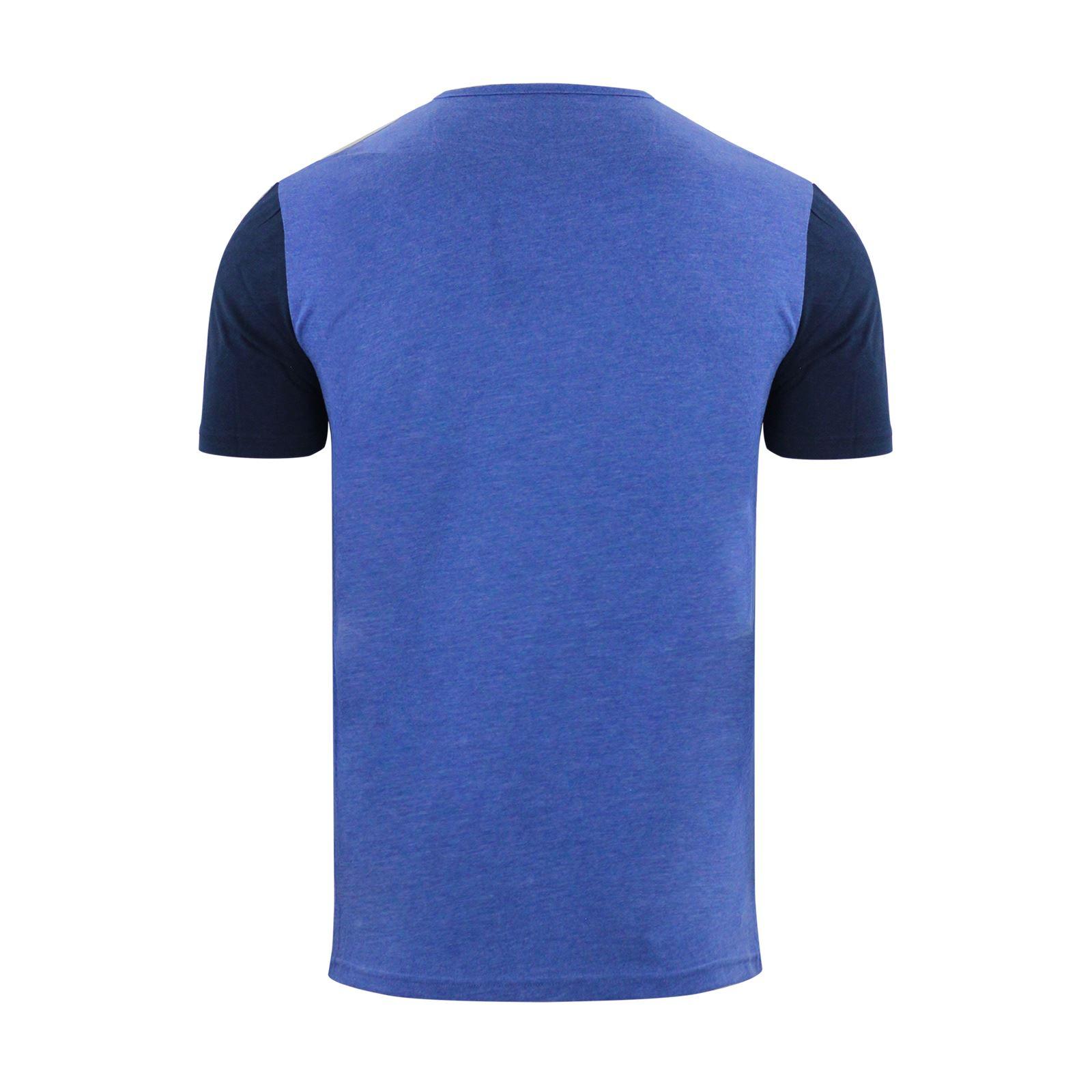 Brave-Soul-Quartz-Homme-T-Shirt-Grandad-Neck-manches-courtes-coton-tee miniature 15