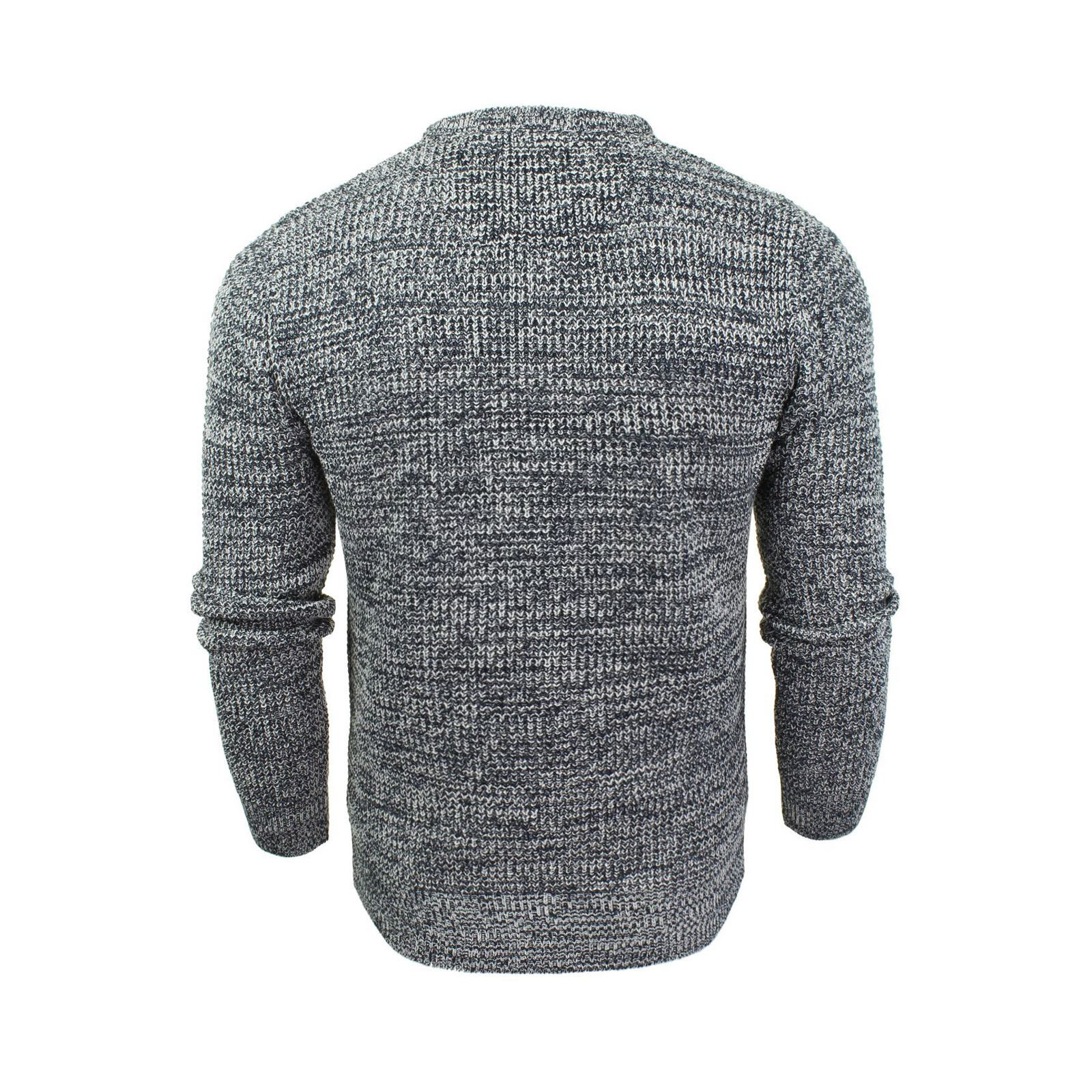 Mens-Jumper-Brave-Soul-Knitted-Sweater-In-Various-Styles thumbnail 96
