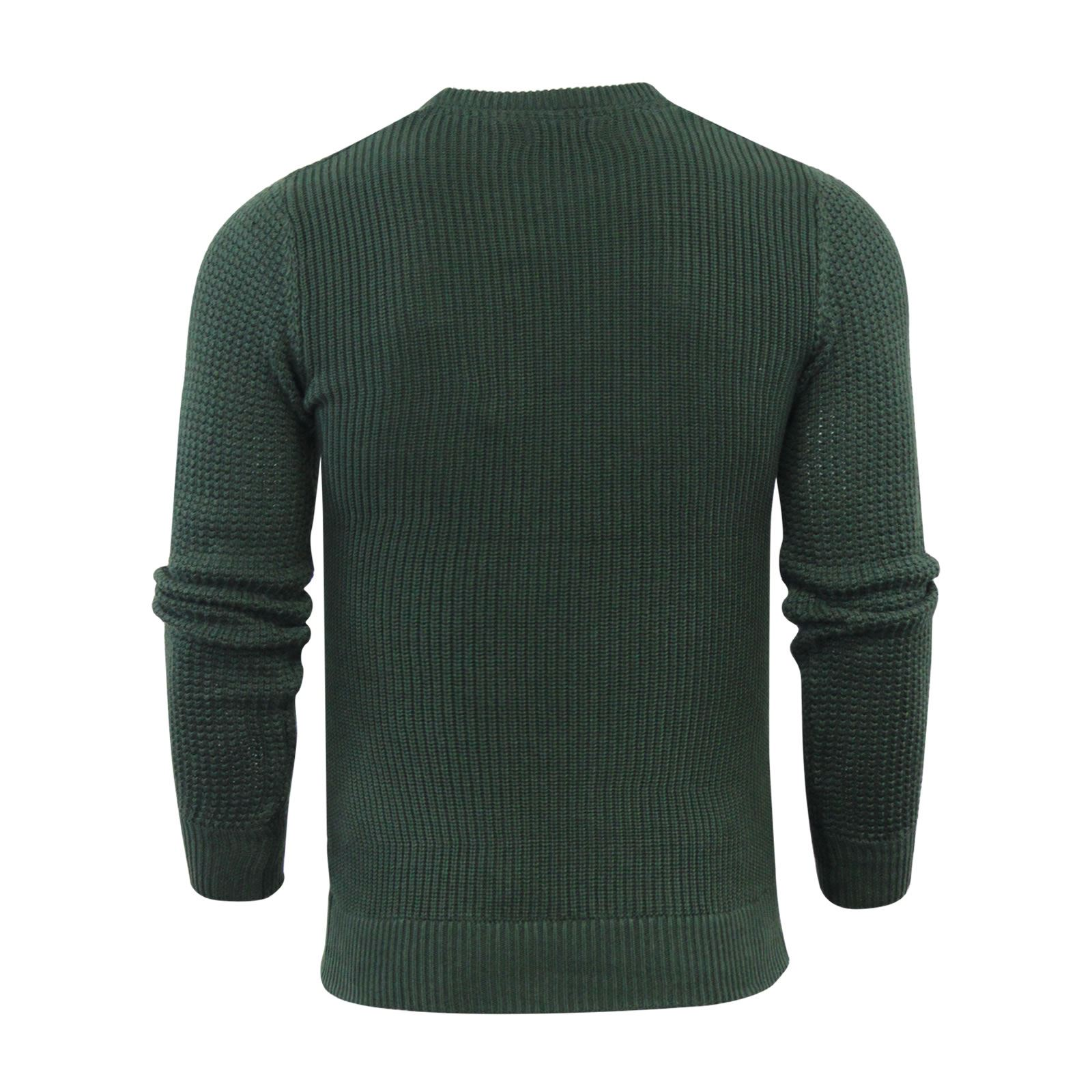 Mens-Jumper-Brave-Soul-Knitted-Sweater-In-Various-Styles thumbnail 128