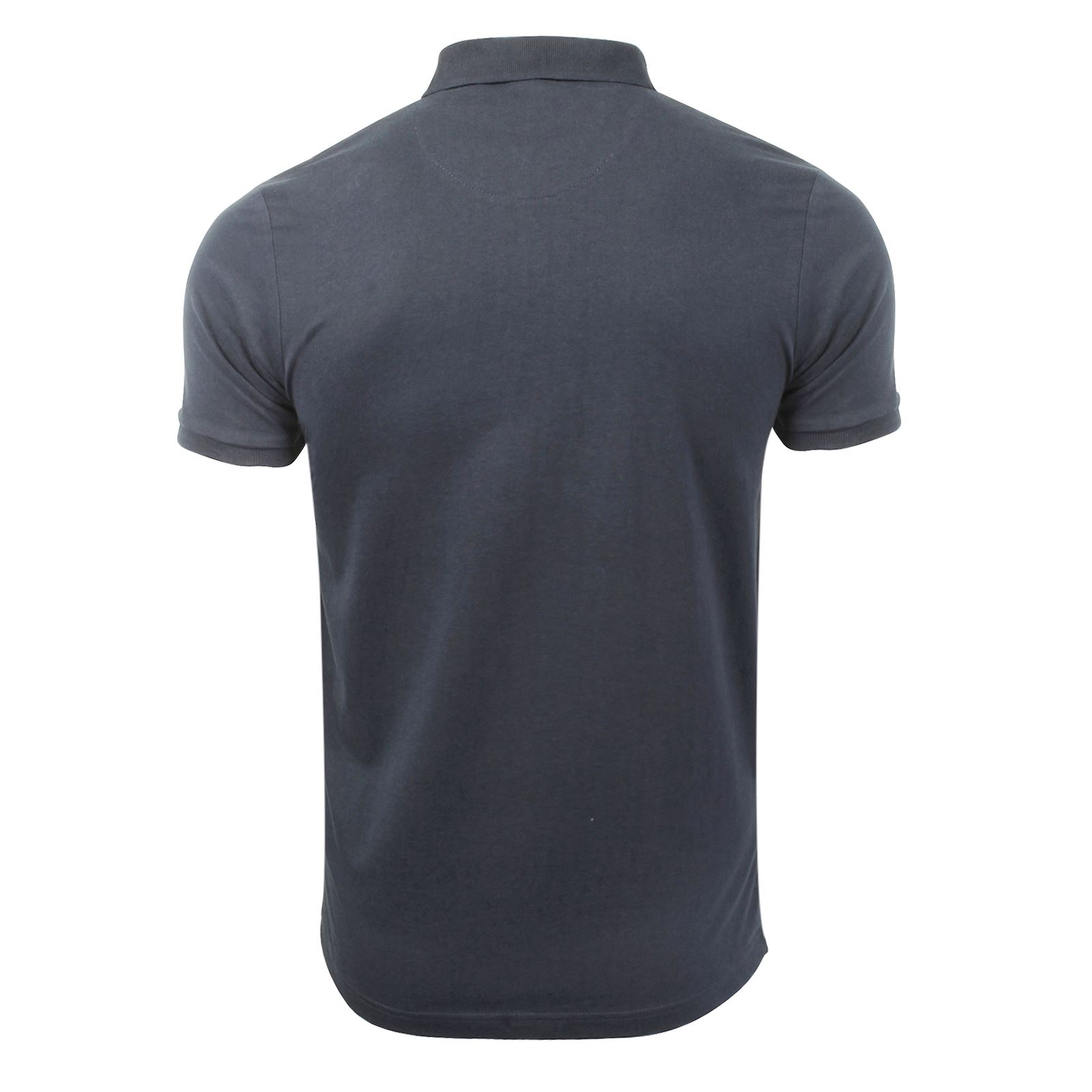 Mens-Polo-T-Shirt-Brave-Soul-Chimera-Chambray-Collared-Cotton-Casual-Top thumbnail 65