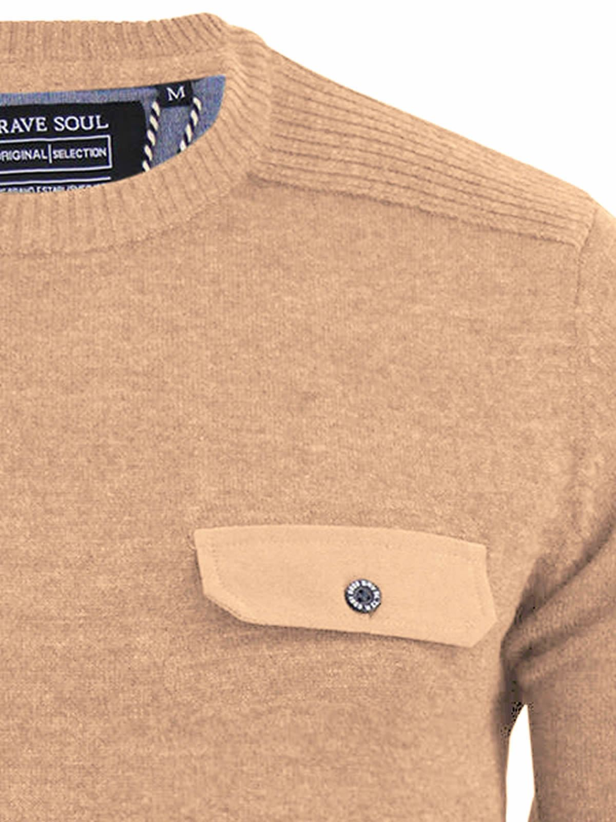 miniature 84 - Pull-Homme-Brave-Soul-Divers-Sweater