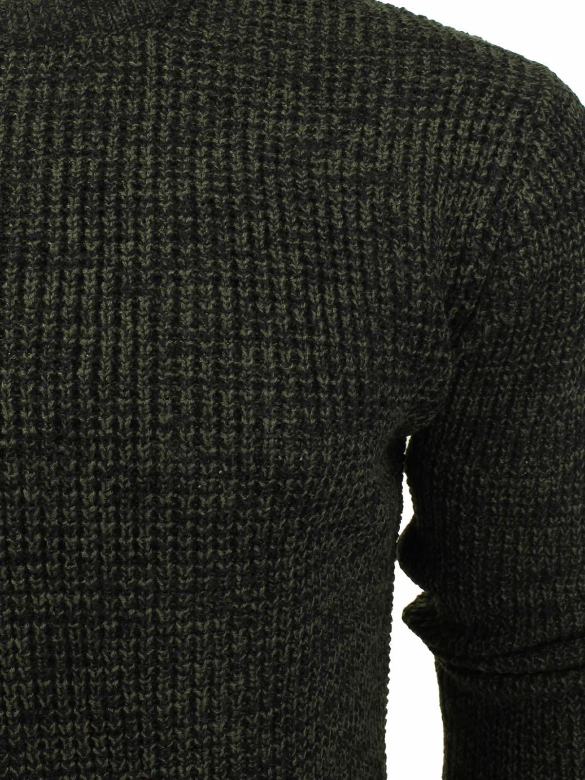 Mens-Jumper-Brave-Soul-Knitted-Sweater-In-Various-Styles thumbnail 94