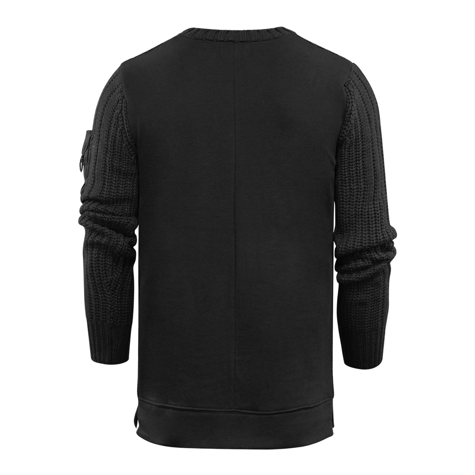 Mens-Jumper-Brave-Soul-Knitted-Sweater-In-Various-Styles thumbnail 67