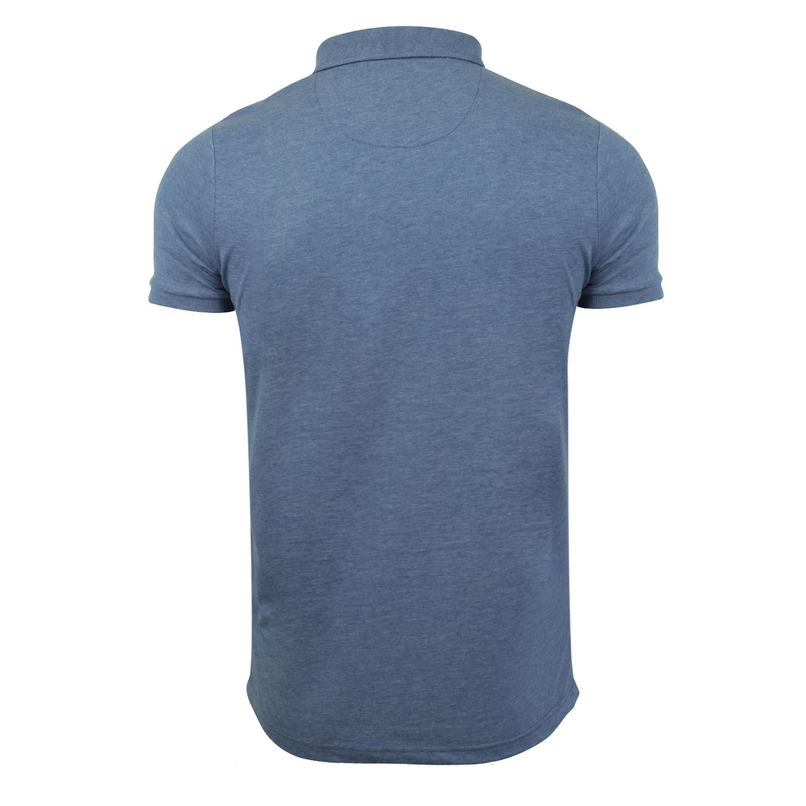 Brave-Soul-Julius-Mens-Polo-T-Shirt-Cotton-Collared-Short-Sleeve-Casual-Top miniature 9