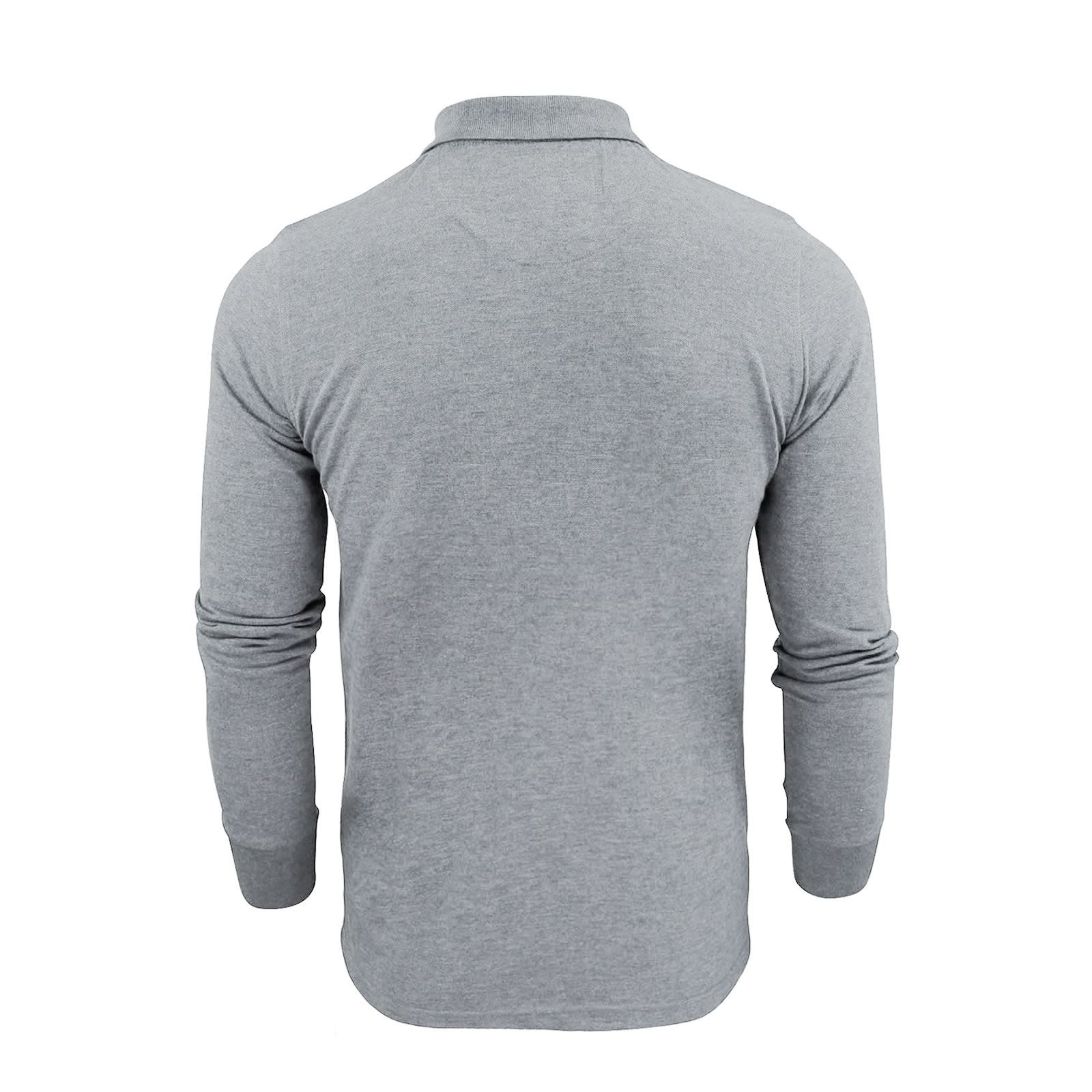 Brave-Soul-Polo-Homme-a-Manches-Longues-A-Col-Haut-Dans-Divers-Styles miniature 35