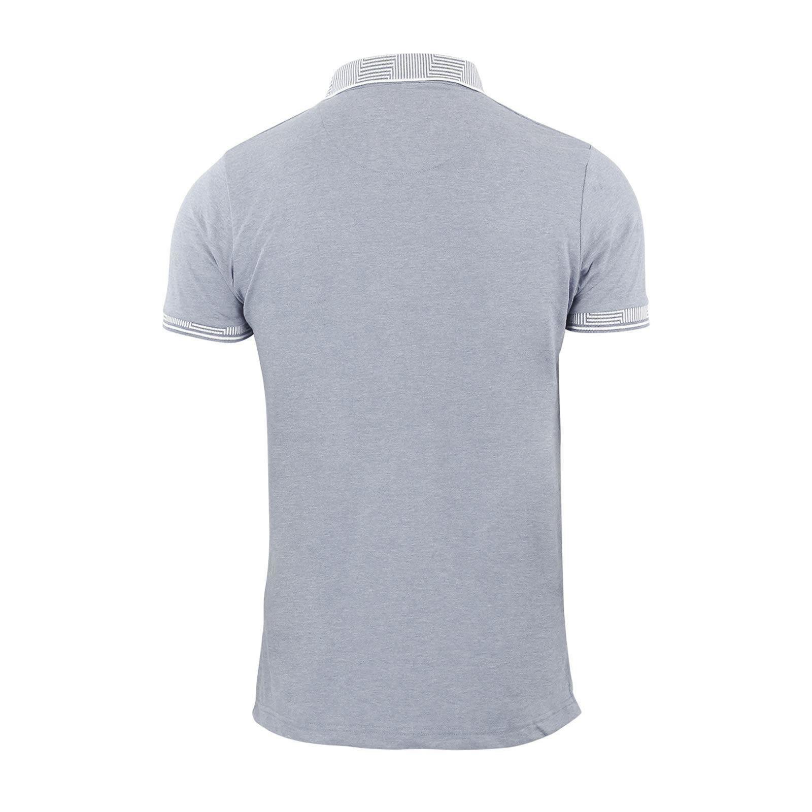Brave-Soul-Glover-Homme-Polo-T-Shirt-En-Coton-A-Col-Manches-Courtes-Haut-Decontracte miniature 49