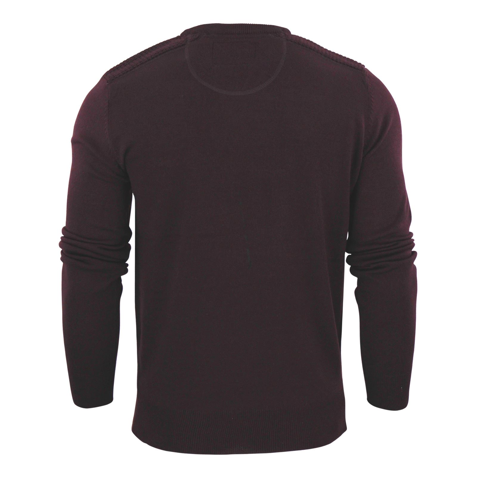 Mens-Jumper-Brave-Soul-Knitted-Sweater-In-Various-Styles thumbnail 74