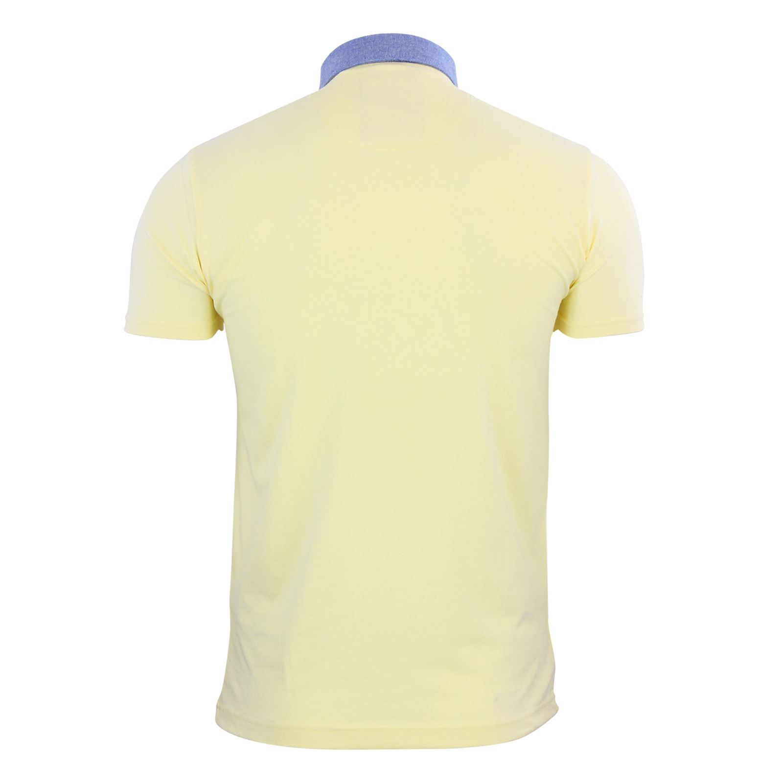 Brave-Soul-Glover-Mens-Polo-T-Shirt-Cotton-Collared-Short-Sleeve-Casual-Top thumbnail 18