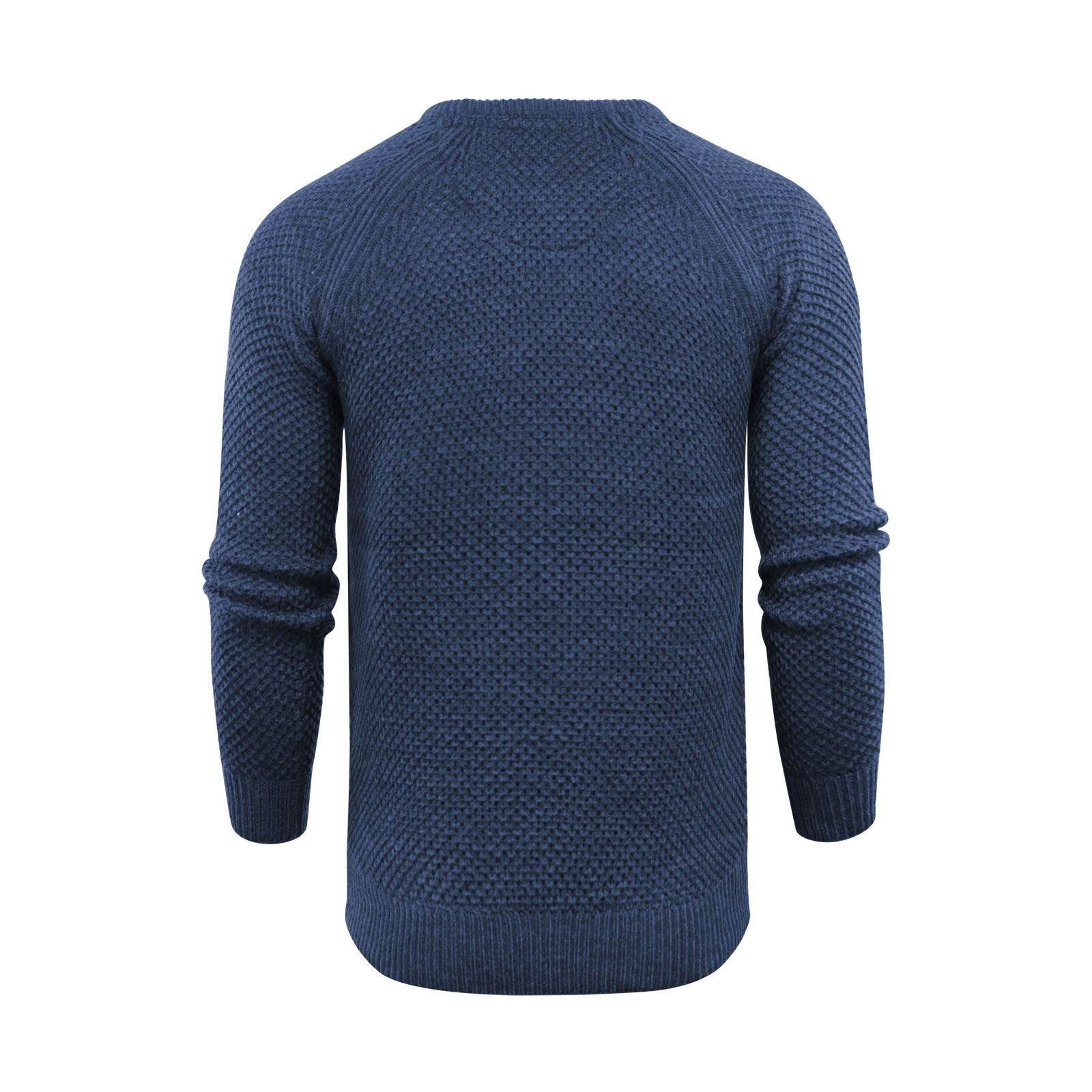 Mens-Jumper-Brave-Soul-Knitted-Sweater-In-Various-Styles thumbnail 124