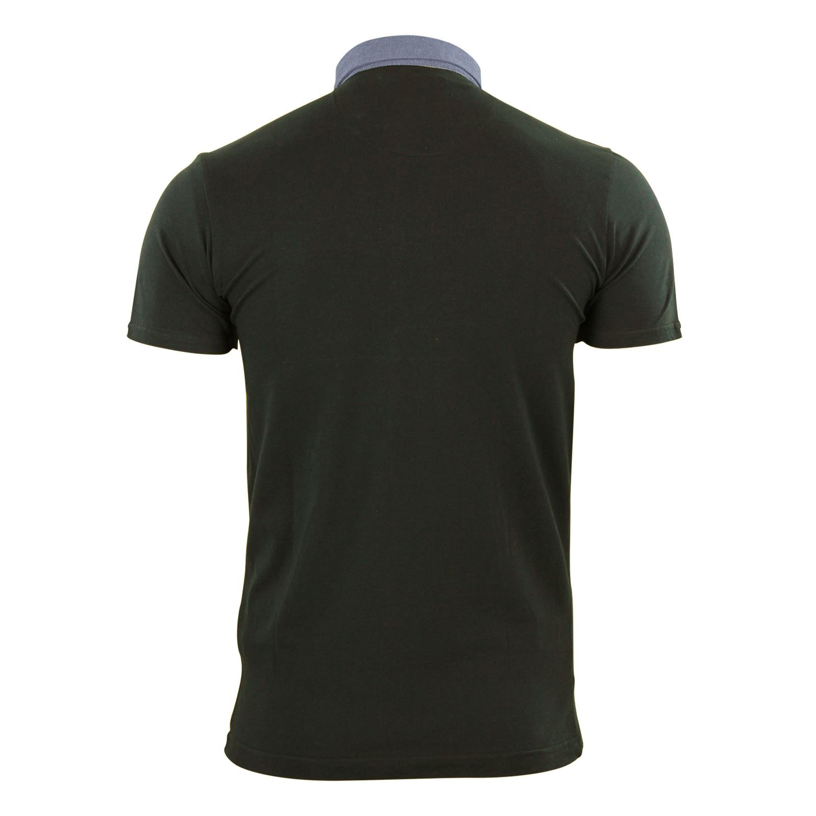 Mens-Polo-T-Shirt-Brave-Soul-Glover-Cotton-Collared-Short-Sleeve-Casual-Top thumbnail 34