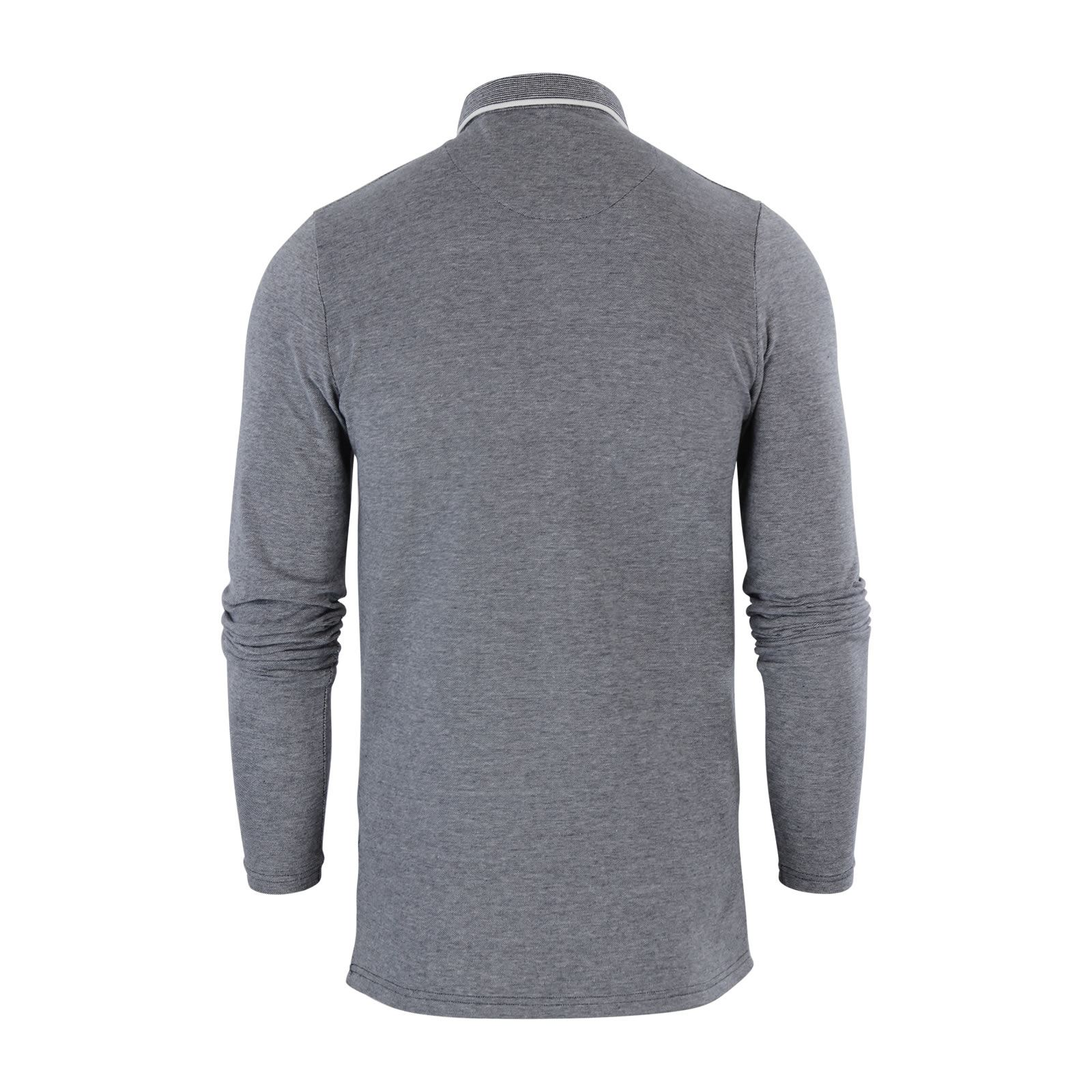 Mens-Polo-Shirt-Brave-Soul-Long-Sleeve-Collared-Top-In-Various-Styles thumbnail 3