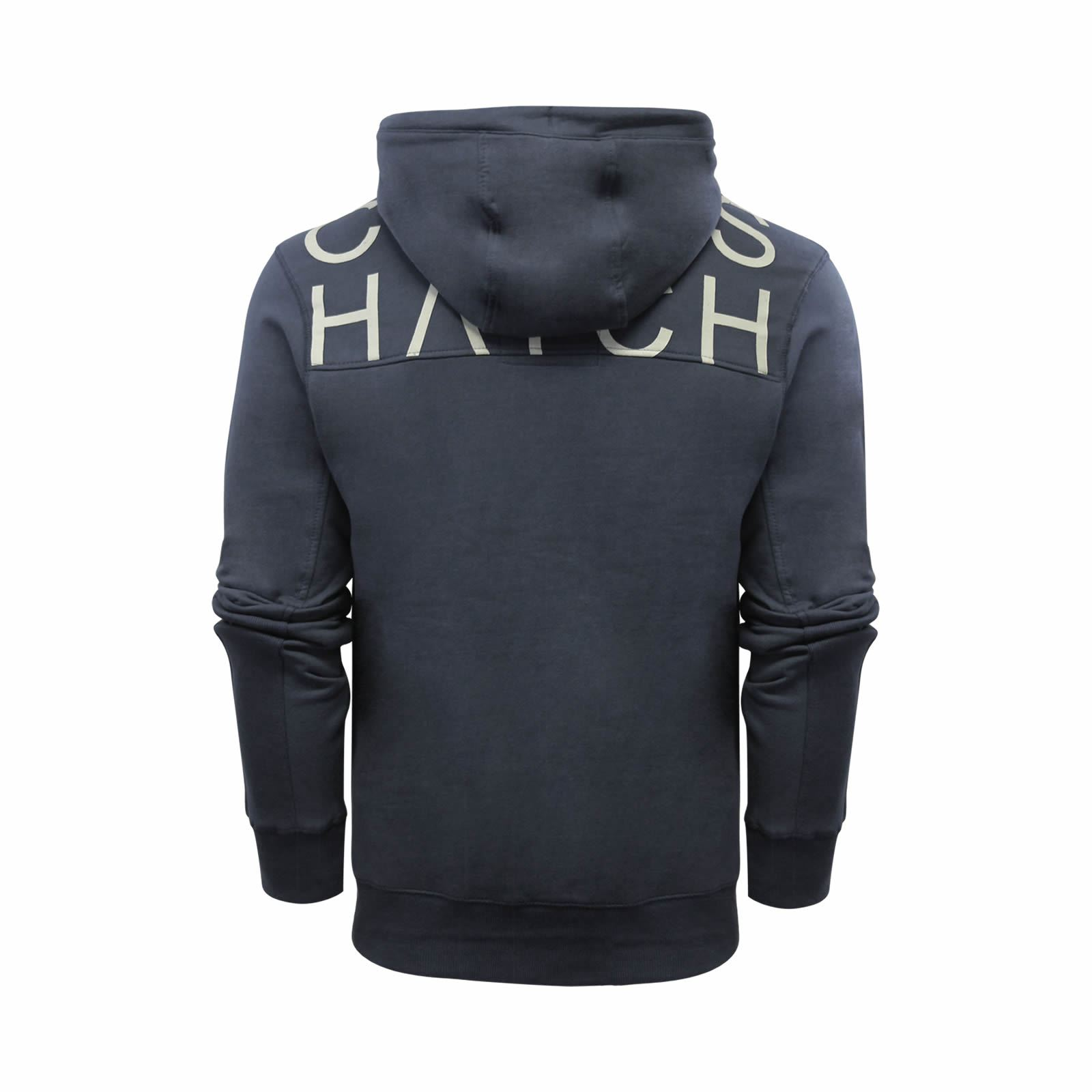 Mens-Hoodie-Crosshatch-Sunbirds-Cotton-Hooded-Pull-Over-Sweater thumbnail 5