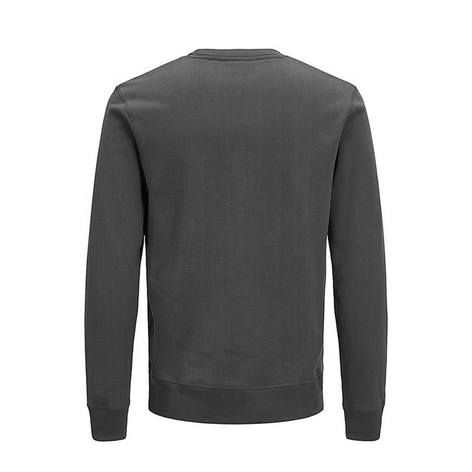 JACK /& JONES Men's Crew Neck Plain Sweatshirt Pete Urban Casual Sweat Top Jumper
