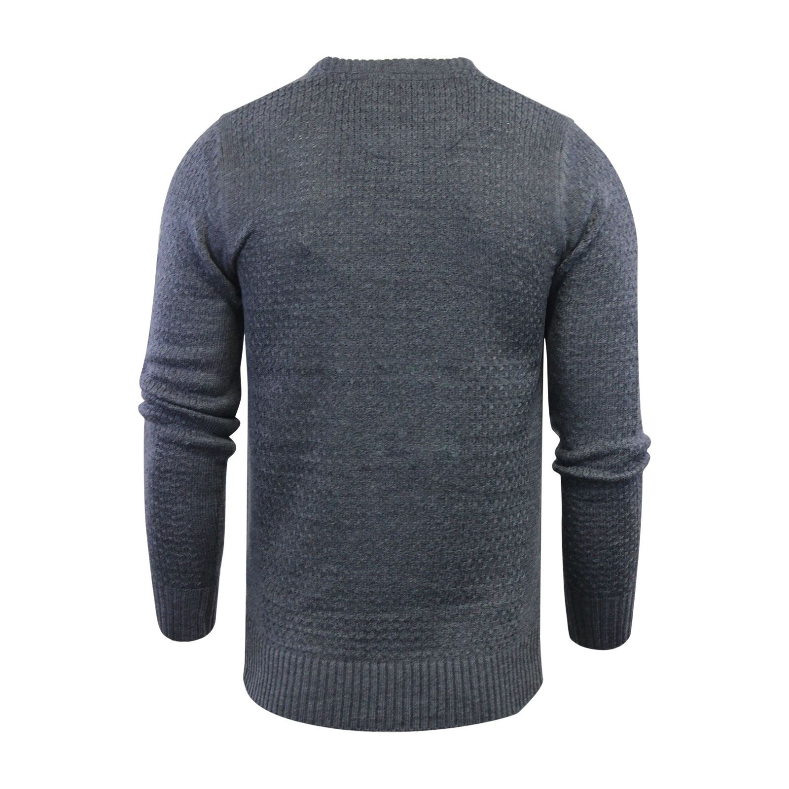 Mens-Jumper-Brave-Soul-Knitted-Sweater-In-Various-Styles thumbnail 17