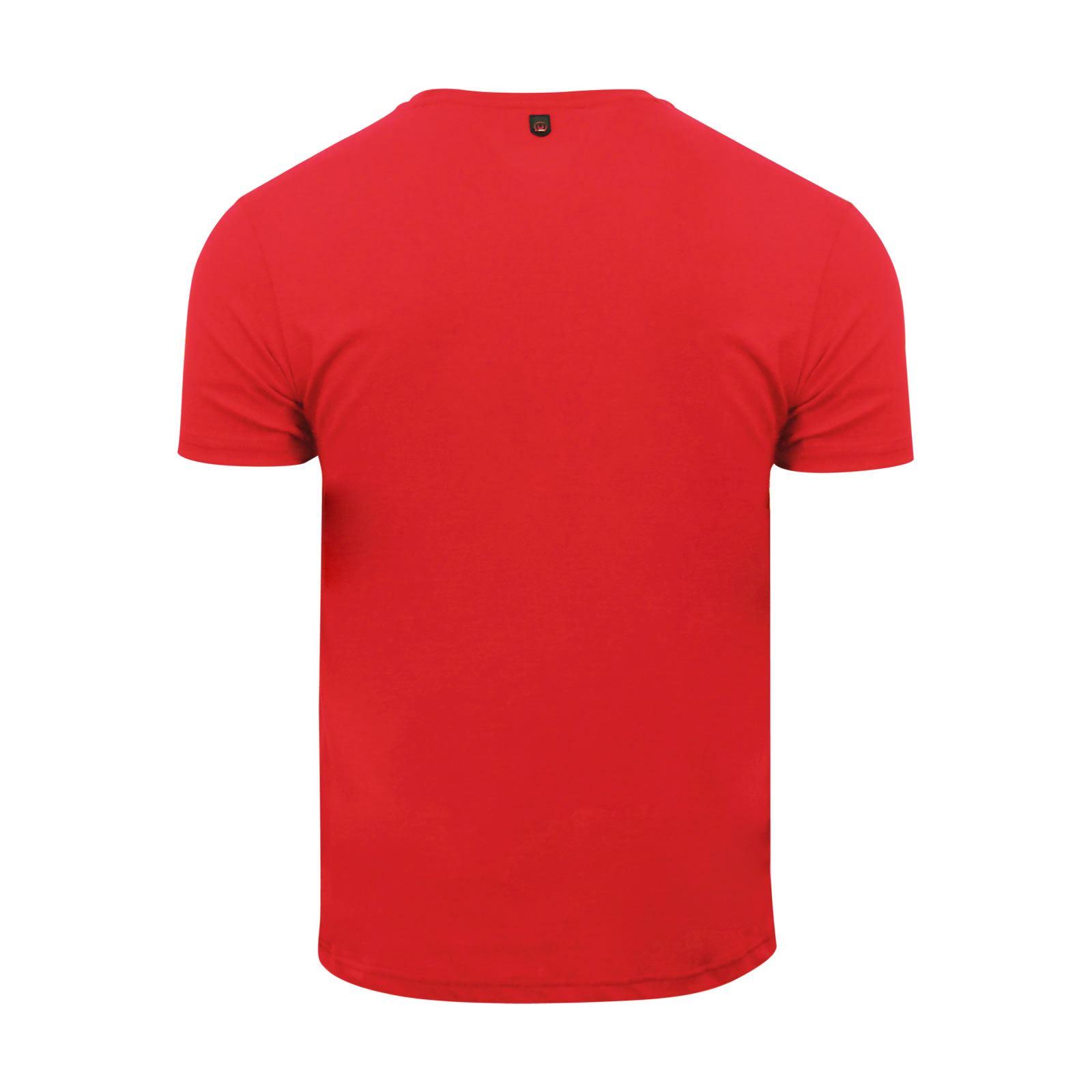 miniature 5 - Hommes-T-Shirt-Duck-amp-Cover-JEREM-a-encolure-ras-du-cou-a-manches-courtes-Graphic-Tee