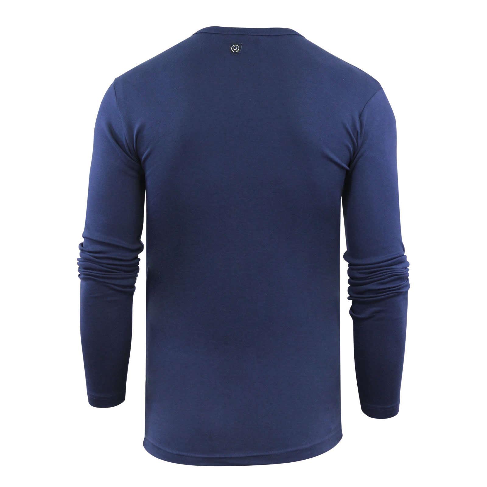 Duck-amp-Cover-STOCK-Homme-T-shirt-coton-confort-stretch-a-encolure-ras-du-cou-T-shirt-manches miniature 3