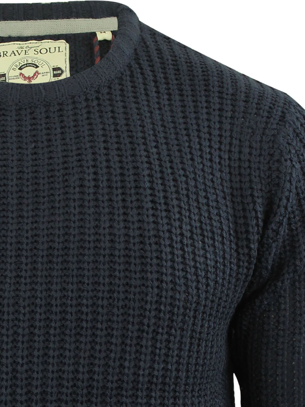 miniature 31 - Pull-Homme-Brave-Soul-Divers-Sweater