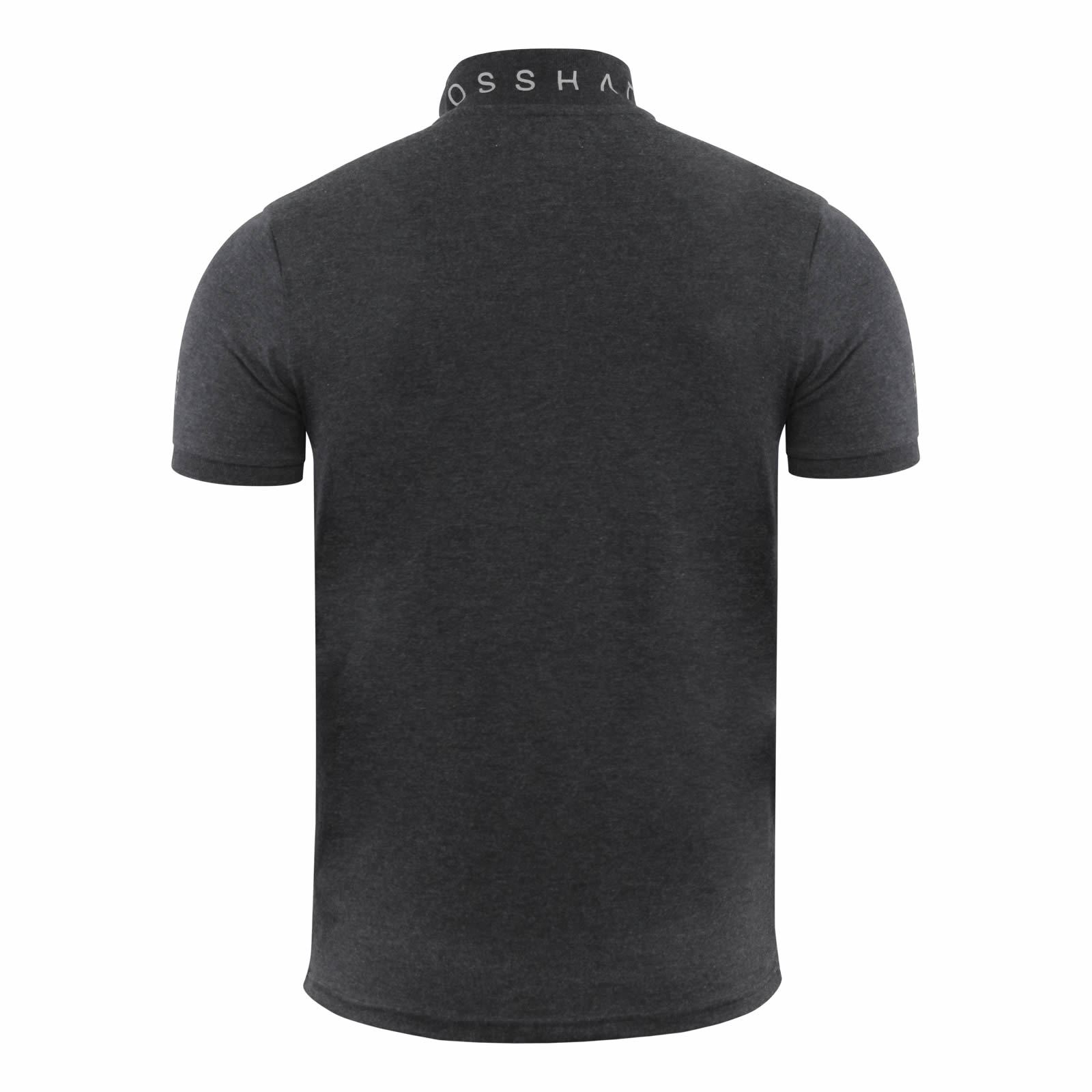 Mens-Polo-T-Shirt-Crosshatch-Evangels-Collared-Cotton-Short-Sleeve-Casual-Top thumbnail 24