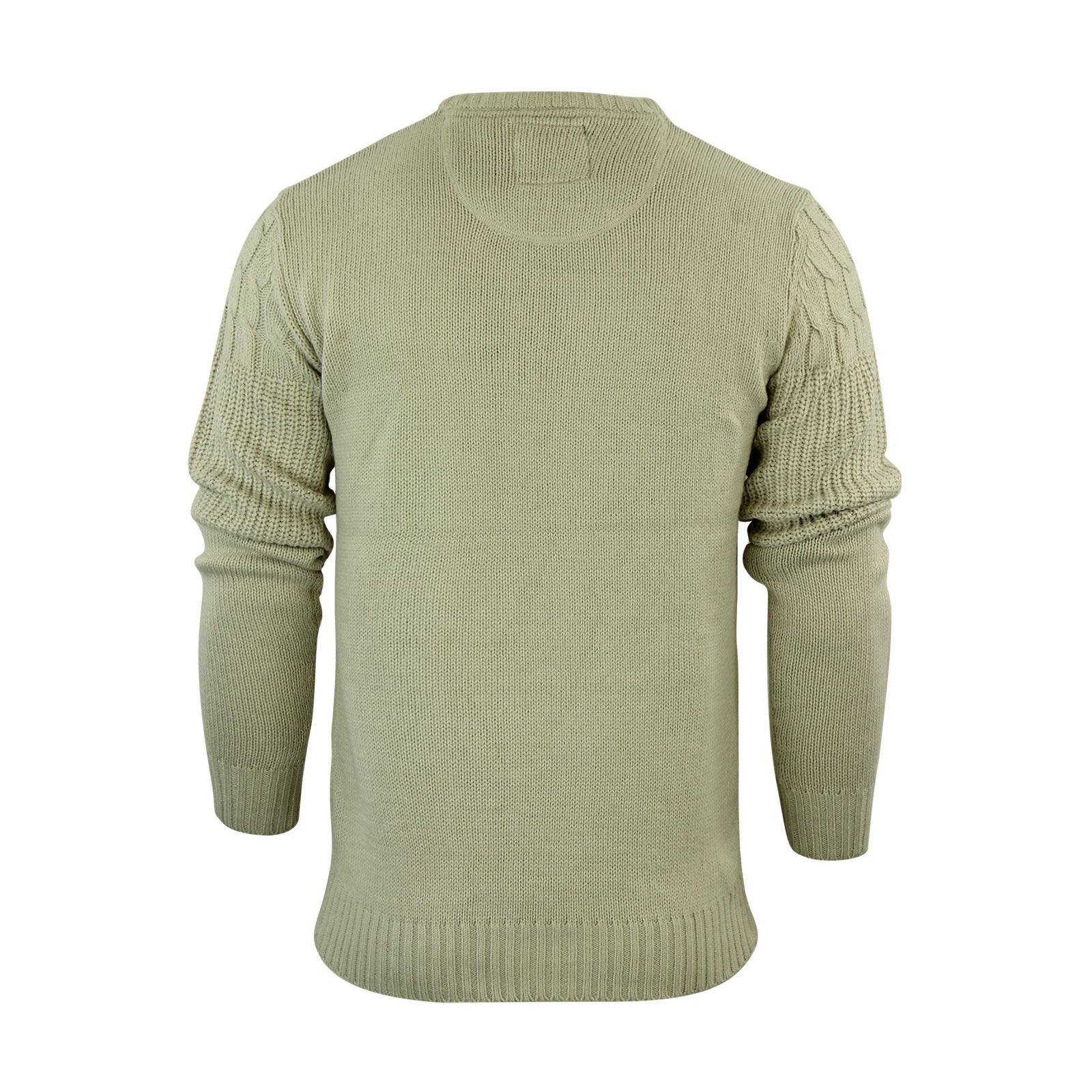 Mens-Jumper-Brave-Soul-Knitted-Sweater-In-Various-Styles thumbnail 108