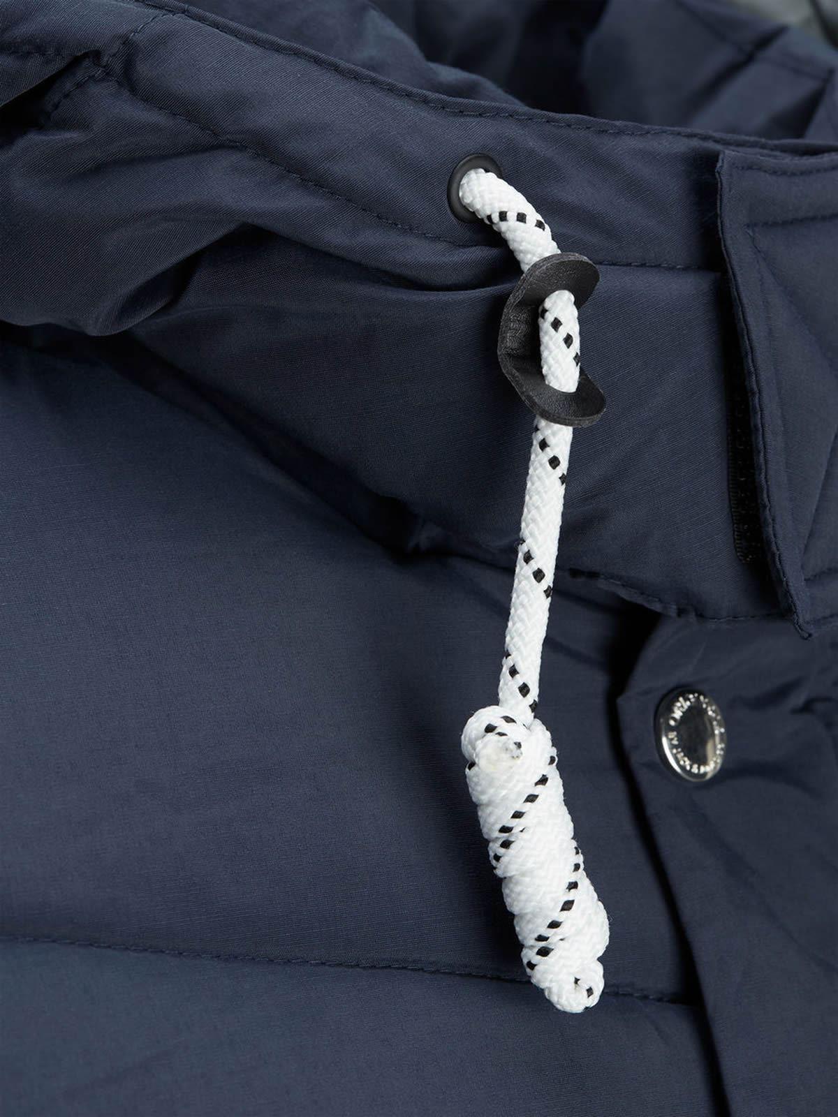 JACK-amp-JONES-Figure-Mens-Jacket-Hooded-Zip-Up-Padded-Bomber-Coat thumbnail 10