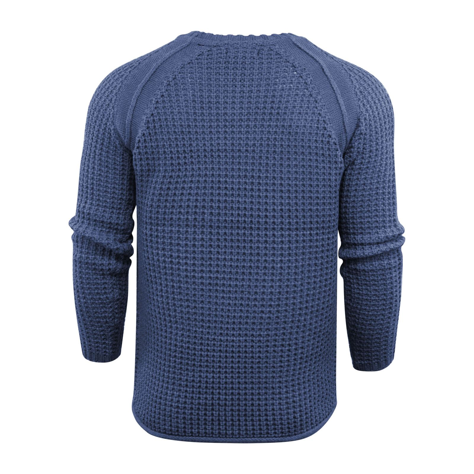 Mens-Jumper-Brave-Soul-Knitted-Sweater-In-Various-Styles thumbnail 103