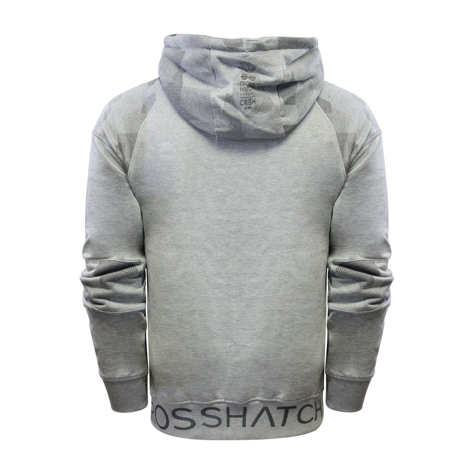 Crosshatch-Quirn-Mens-Hoodie-Cotton-Hooded-Pull-Over-Sweater thumbnail 5
