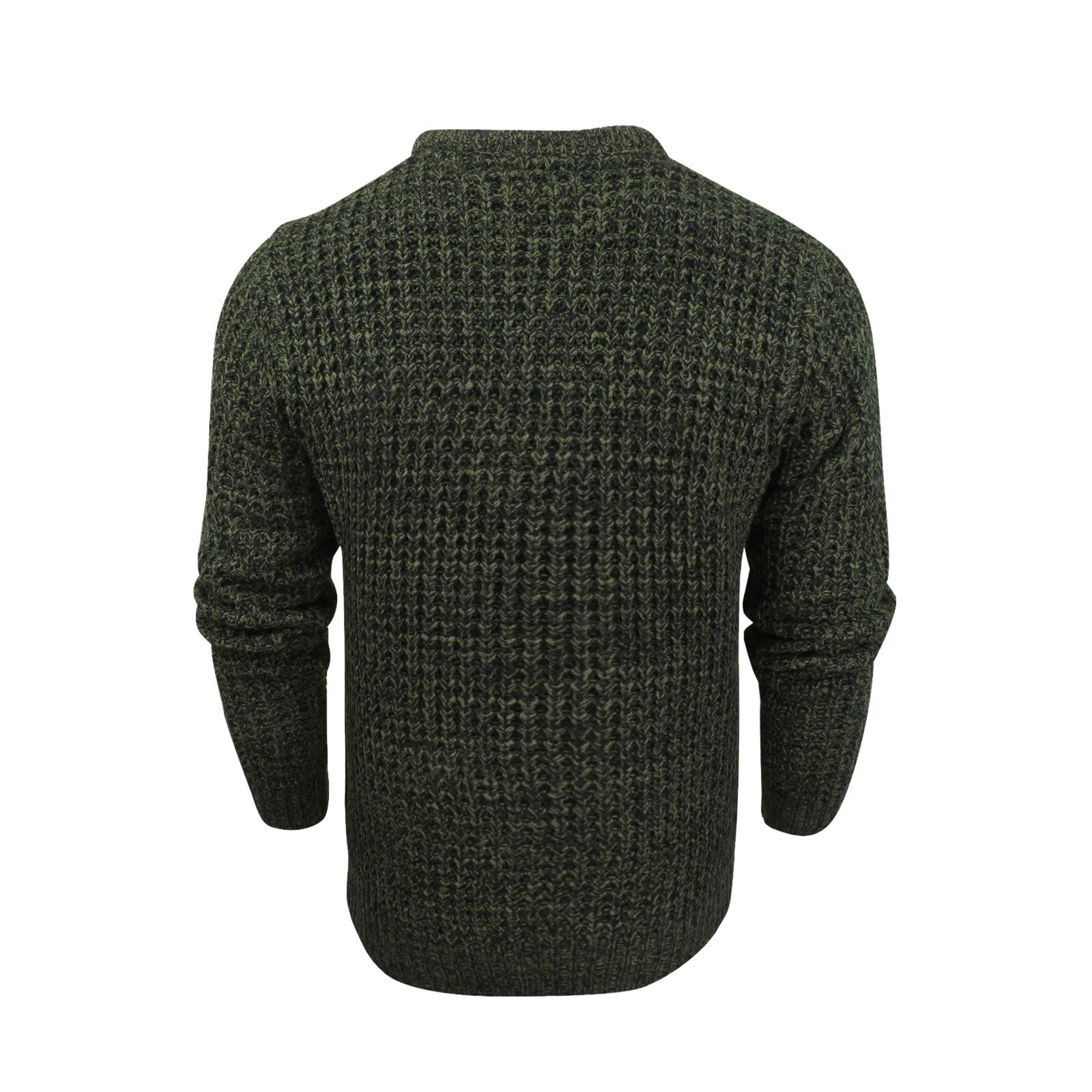 Mens-Jumper-Brave-Soul-Knitted-Sweater-In-Various-Styles thumbnail 19