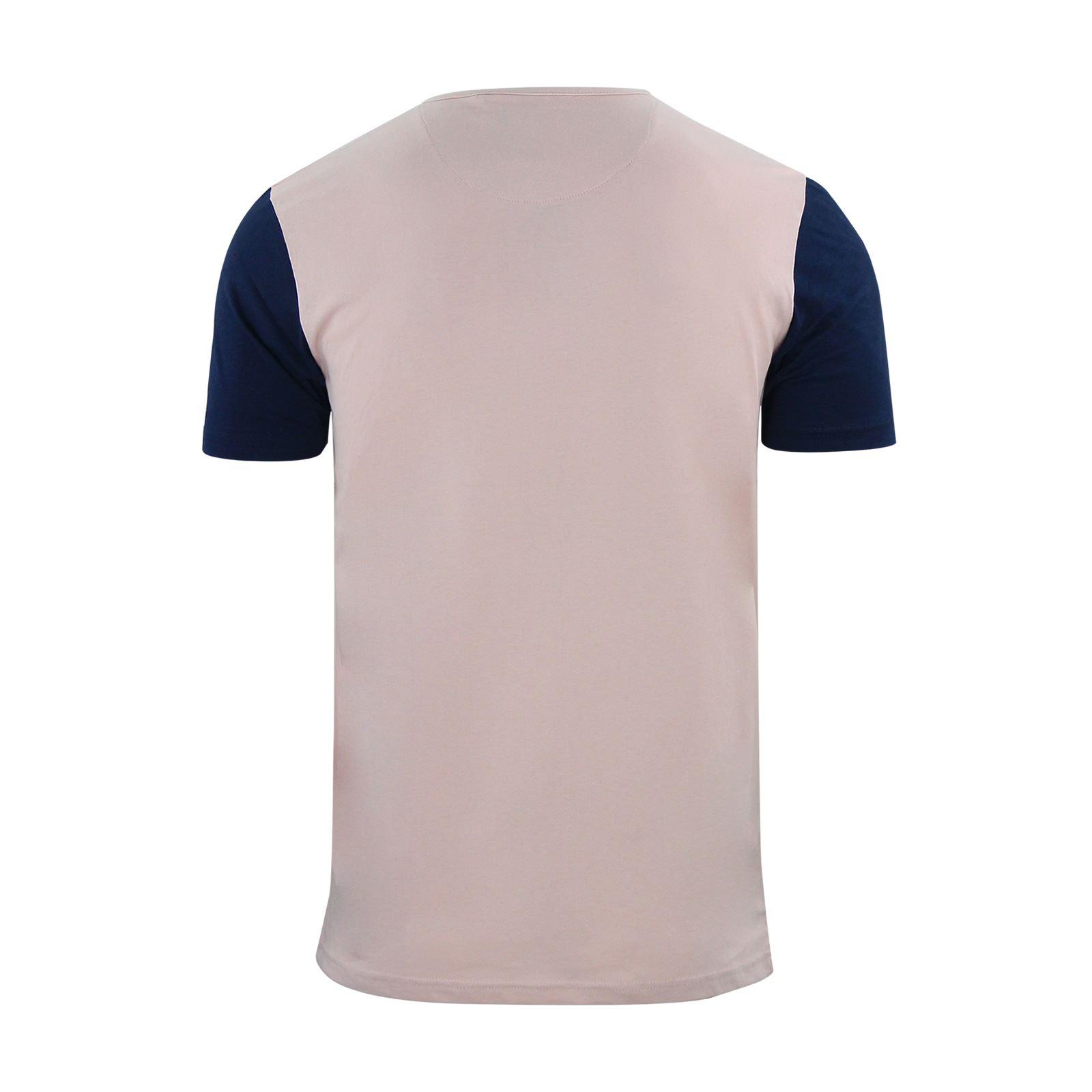 Brave-Soul-Quartz-Homme-T-Shirt-Grandad-Neck-manches-courtes-coton-tee miniature 13