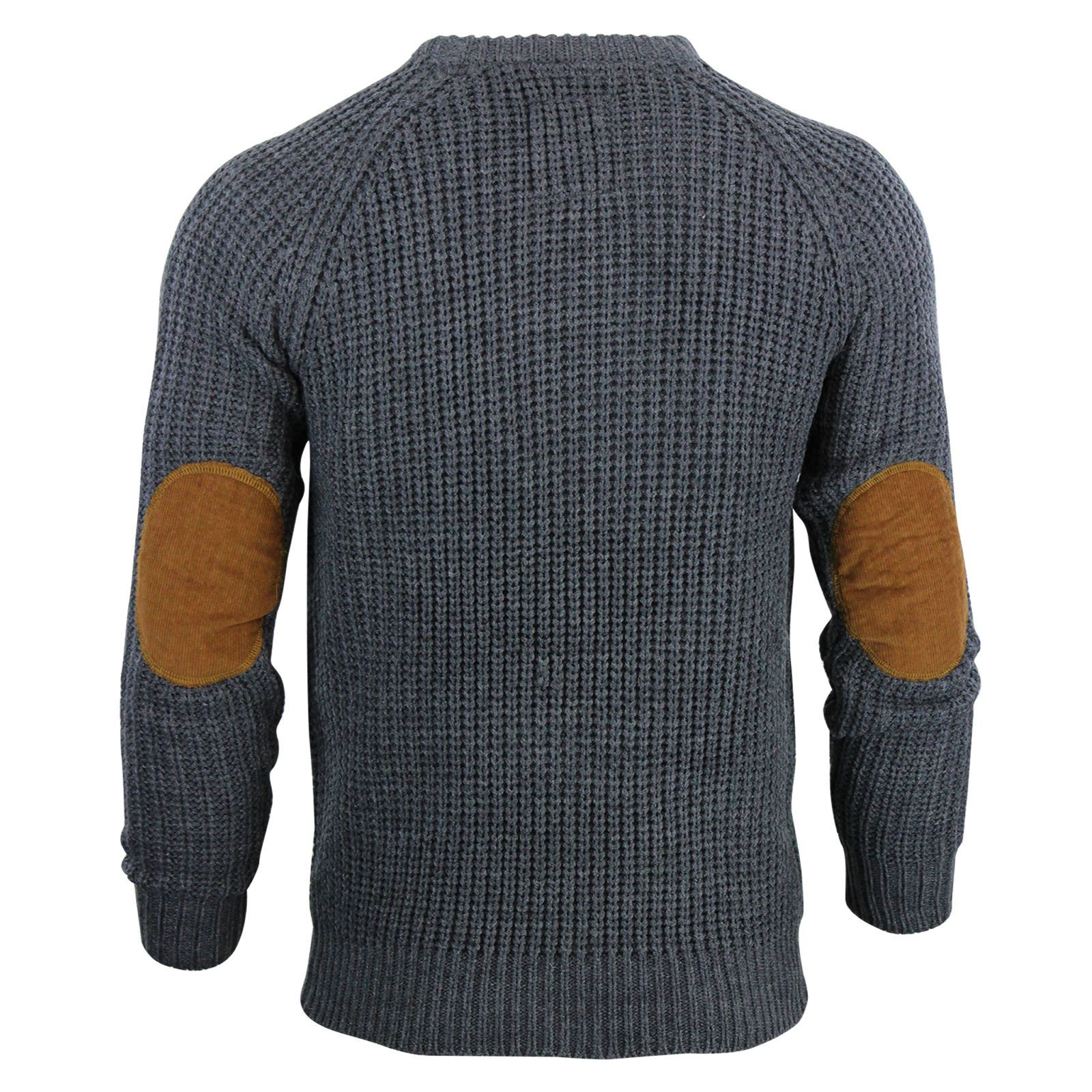 Mens-Jumper-Brave-Soul-Knitted-Sweater-In-Various-Styles thumbnail 56