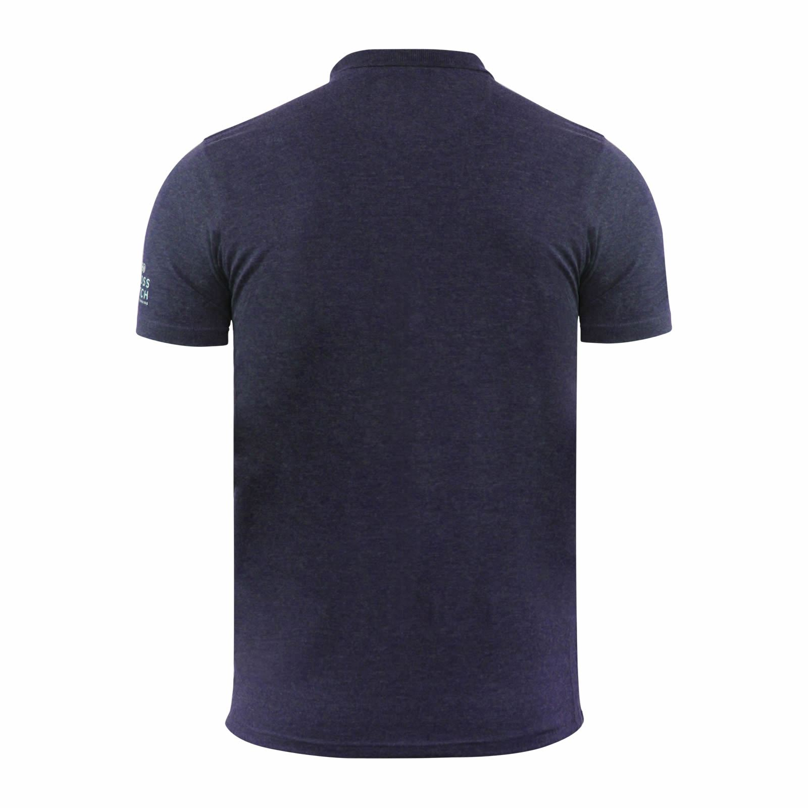 Mens-Polo-T-Shirt-Crosshatch-Evangels-Collared-Cotton-Short-Sleeve-Casual-Top thumbnail 22