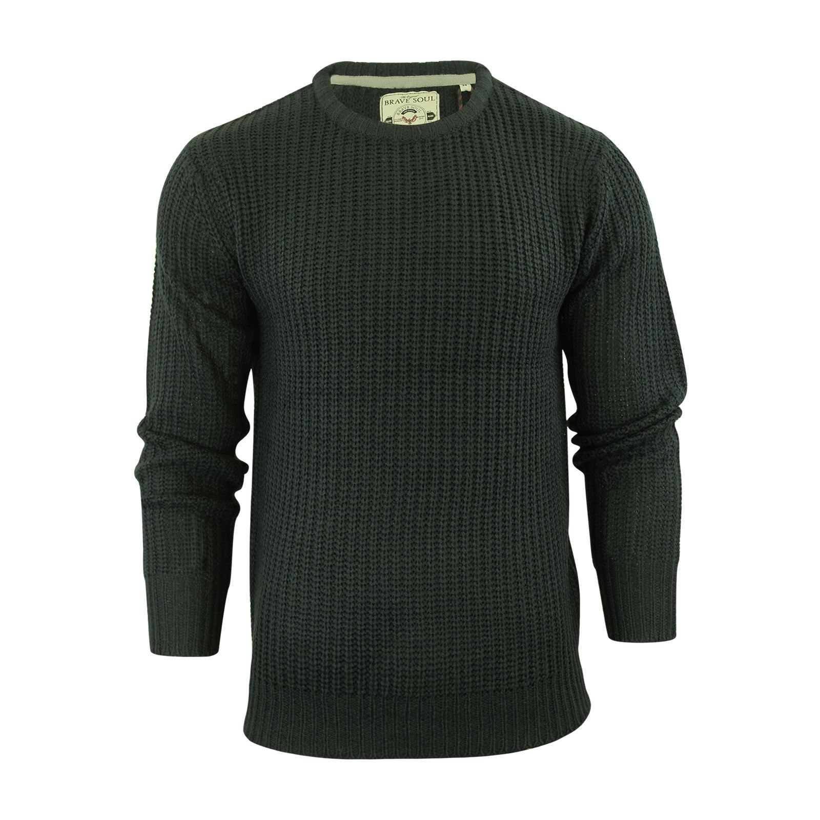 miniature 20 - Pull-Homme-Brave-Soul-Divers-Sweater