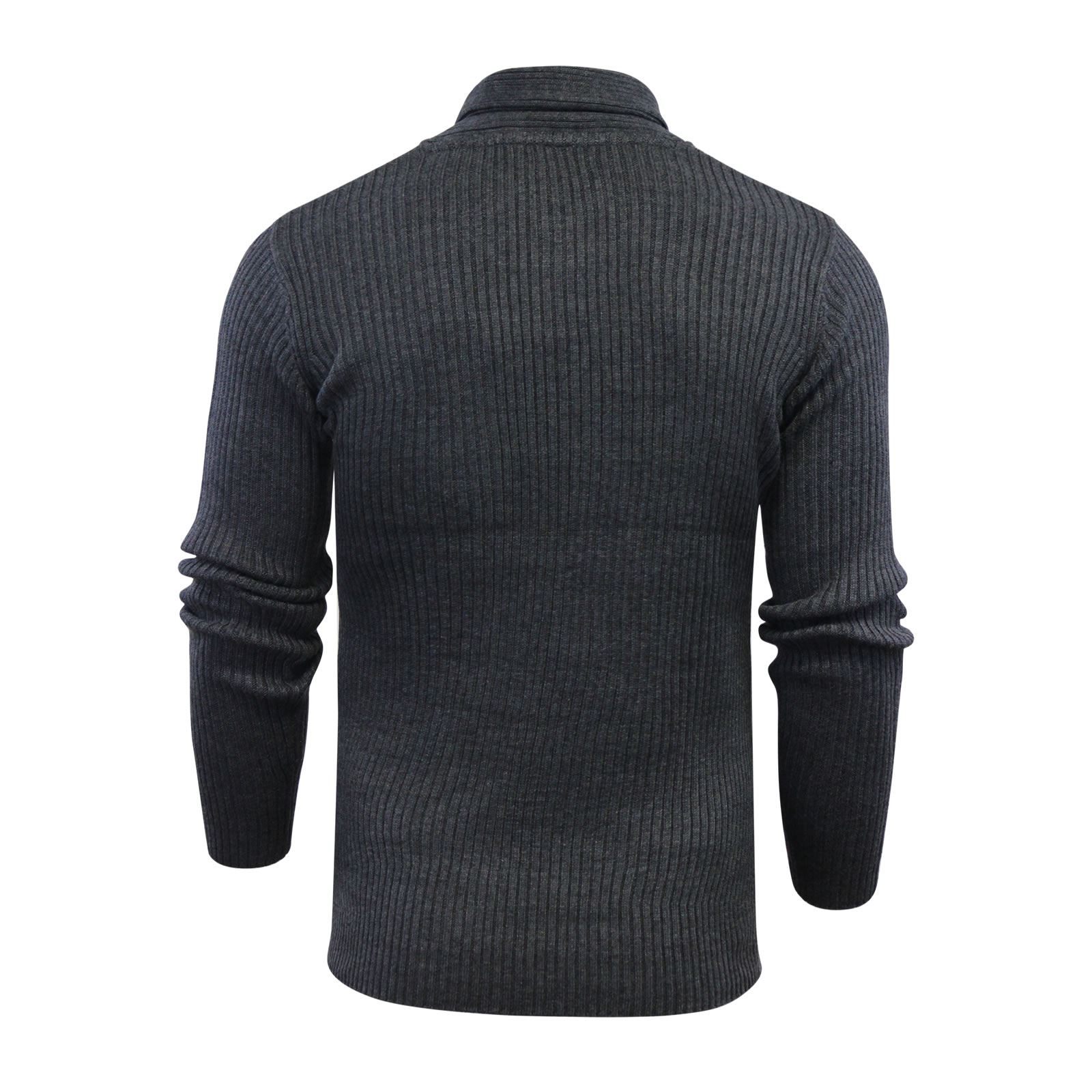 Mens-Jumper-Brave-Soul-Knitted-Sweater-In-Various-Styles thumbnail 118