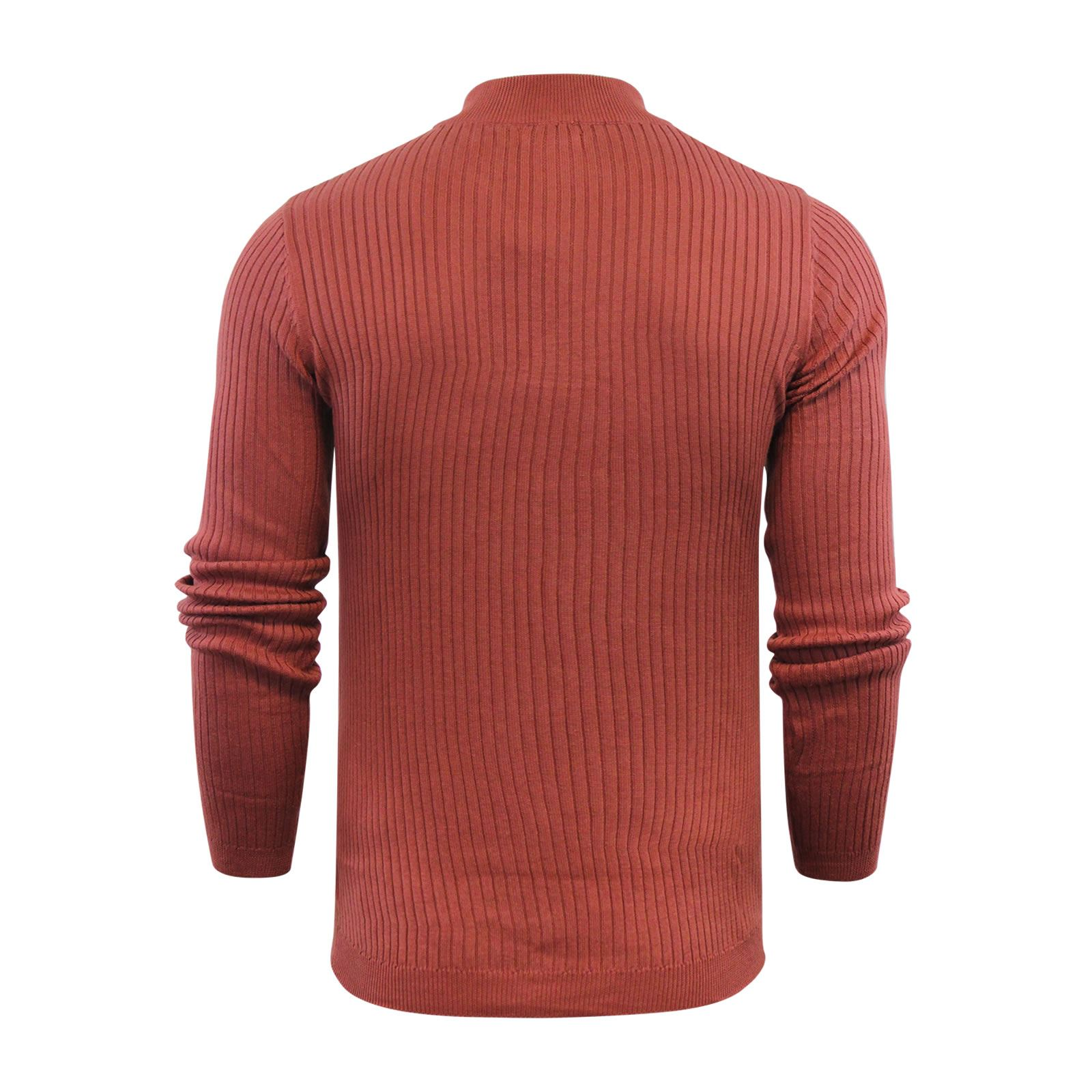 Mens-Jumper-Brave-Soul-Knitted-Sweater-In-Various-Styles thumbnail 89