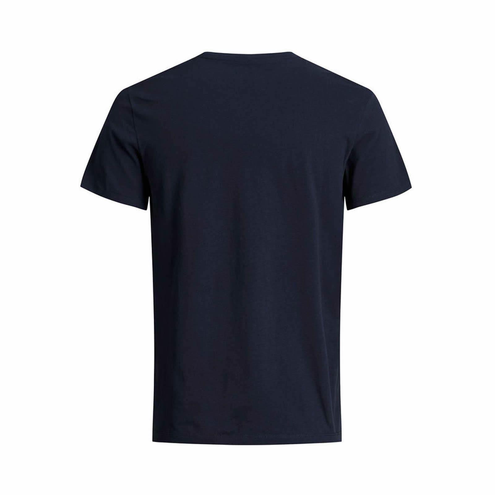 Mens T Shirt JACK /& JONES New Light Crew Neck Short Sleeve Plain Tee