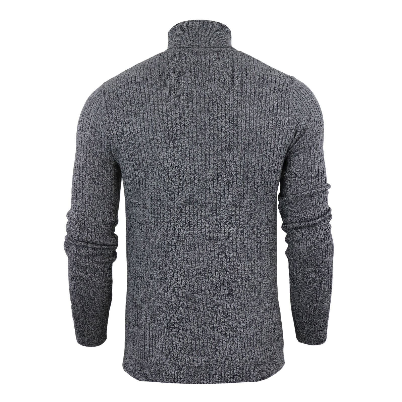Mens-Jumper-Brave-Soul-Knitted-Sweater-In-Various-Styles thumbnail 114