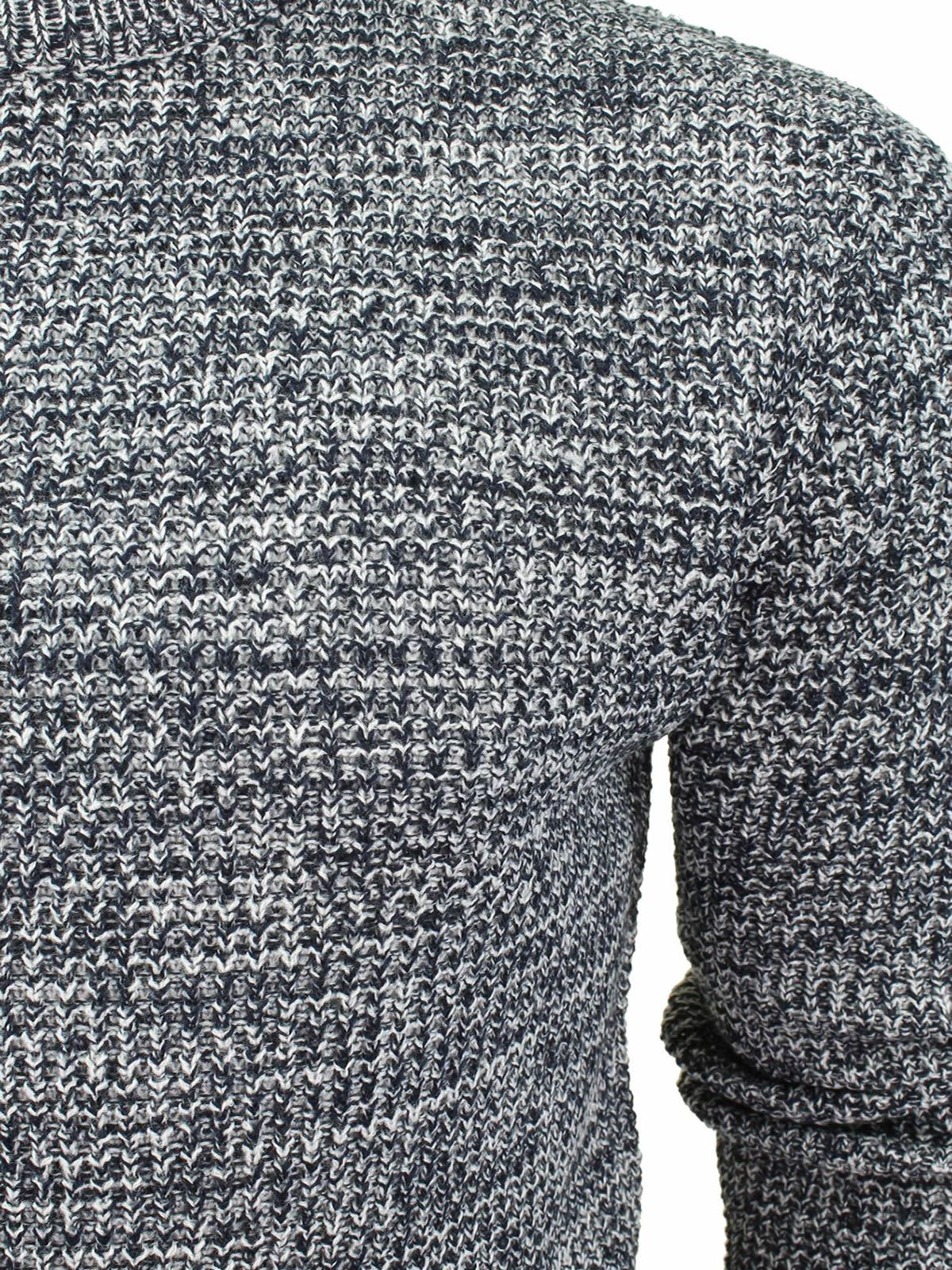 Mens-Jumper-Brave-Soul-Knitted-Sweater-In-Various-Styles thumbnail 97