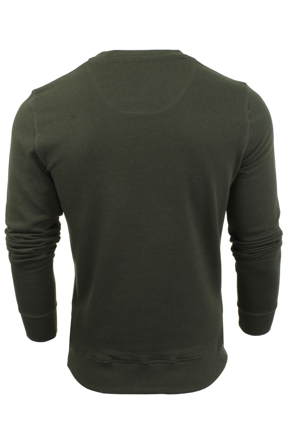 Mens-Sweater-Jumper-Brave-Soul-Jones-Crew-Neck-Sweatshirt thumbnail 13