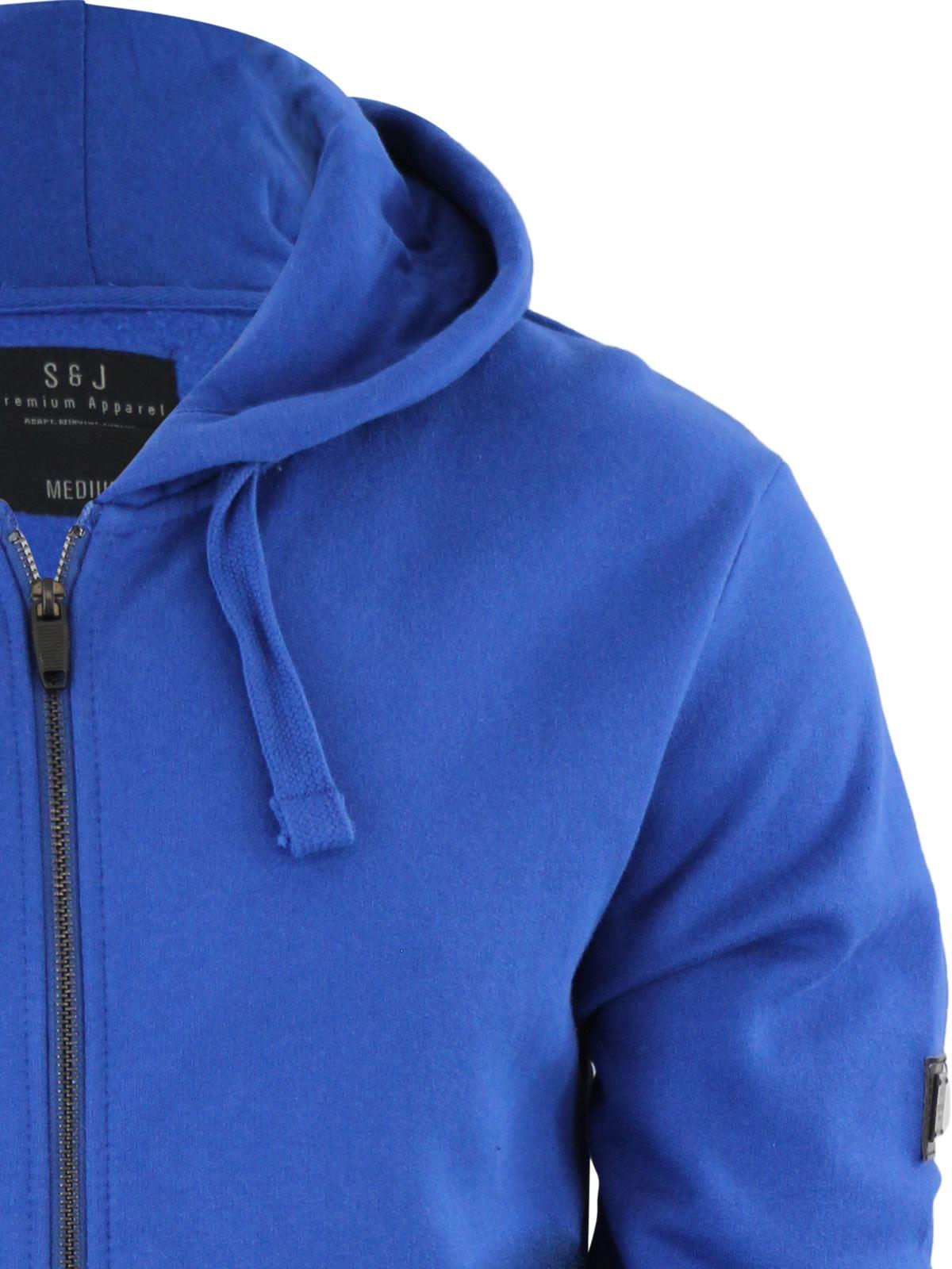 Mens-Hoodie-Smith-amp-Jones-Zip-Up-Hooded-Sweater-Jumper thumbnail 16