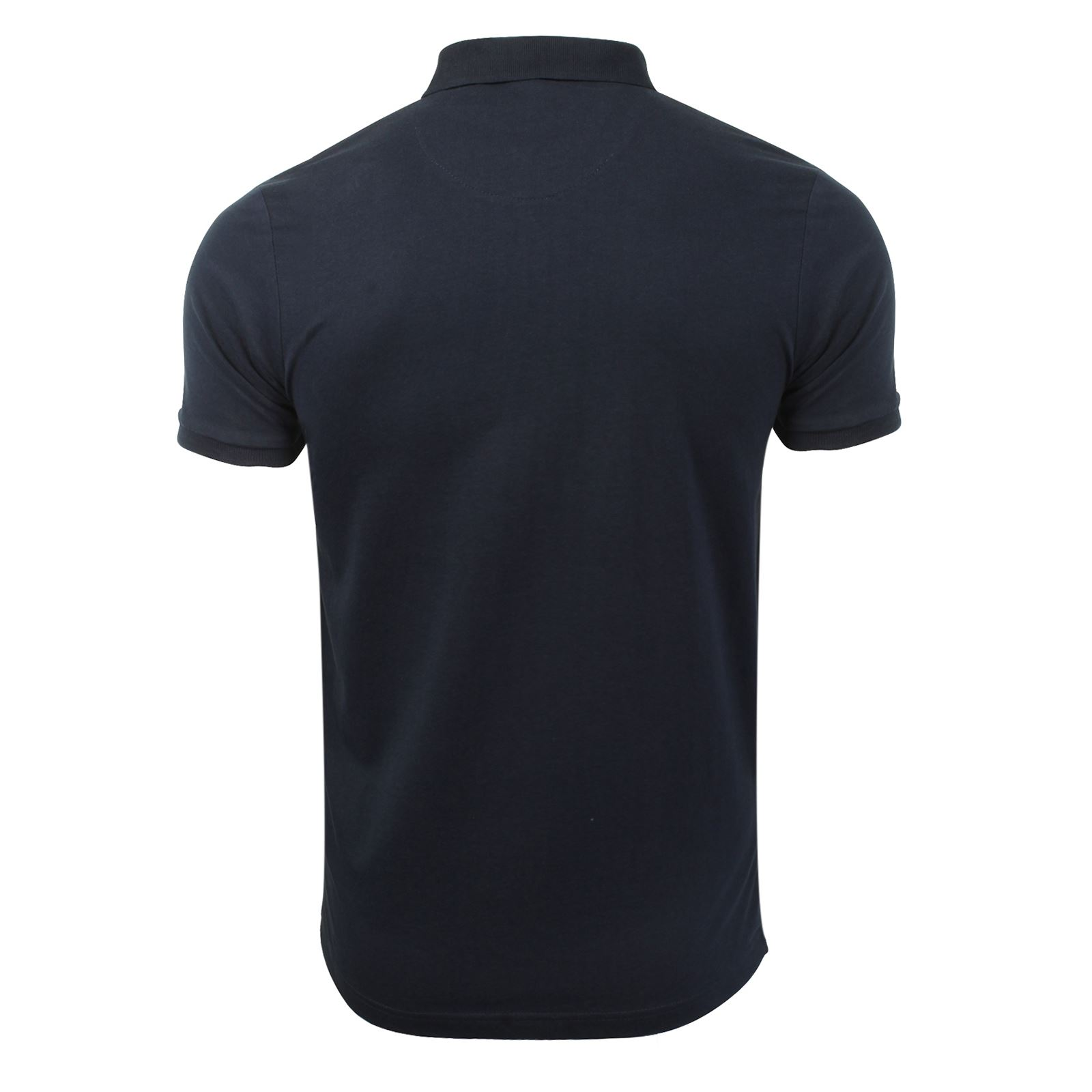 Mens-Polo-T-Shirt-Brave-Soul-Chimera-Chambray-Collared-Cotton-Casual-Top thumbnail 54
