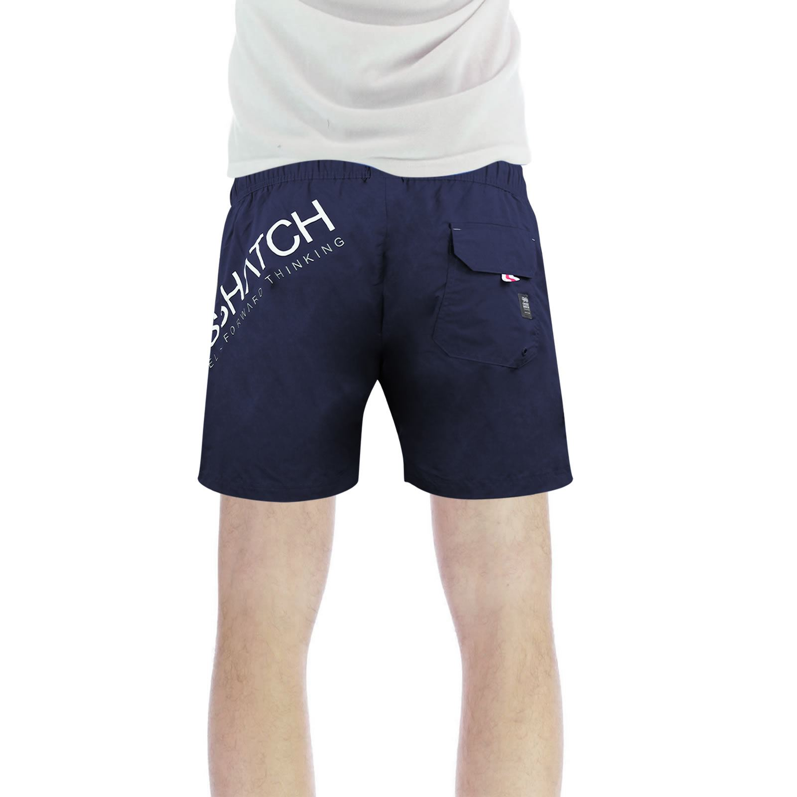 Crosshatch-makins-Homme-Shorts-De-Bain-Casual-Maille-Double-Ete-Natation-Trunks miniature 3