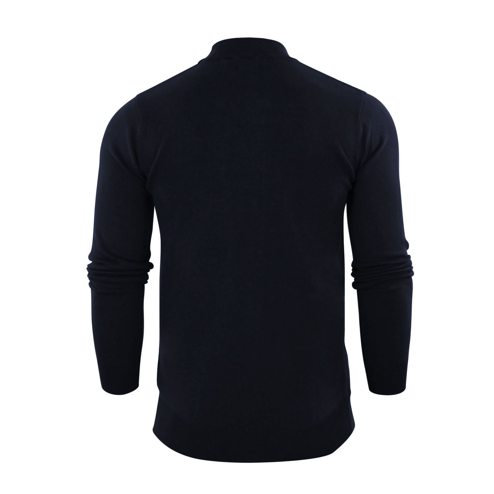 Mens-Jumper-Brave-Soul-Turtle-Neck-Cotton-Pull-Over-Sweater thumbnail 25