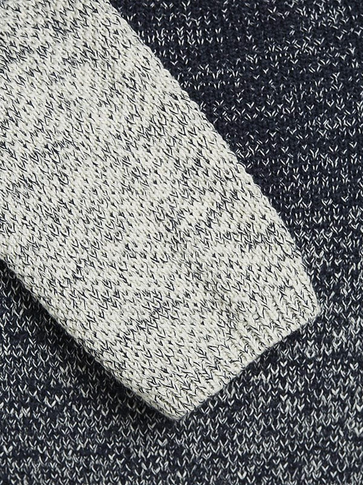 JACK-amp-JONES-CARBURANTE-Maglione-da-Uomo-Lavorato-a-Maglia-Girocollo-Pullover-sweater miniatura 8