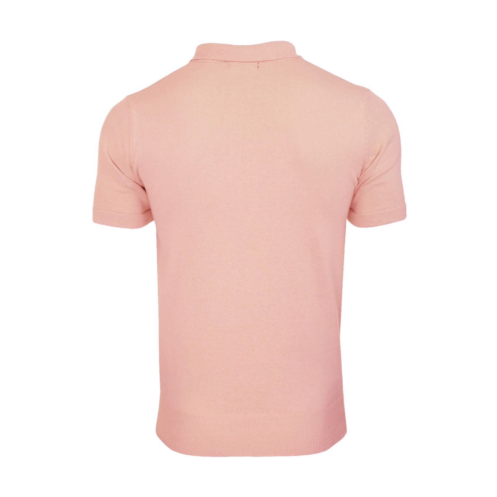 Mens-Knitted-Polo-Brave-Soul-Columbus-Collared-Short-Sleeve-Jumper-T-Shirt thumbnail 3