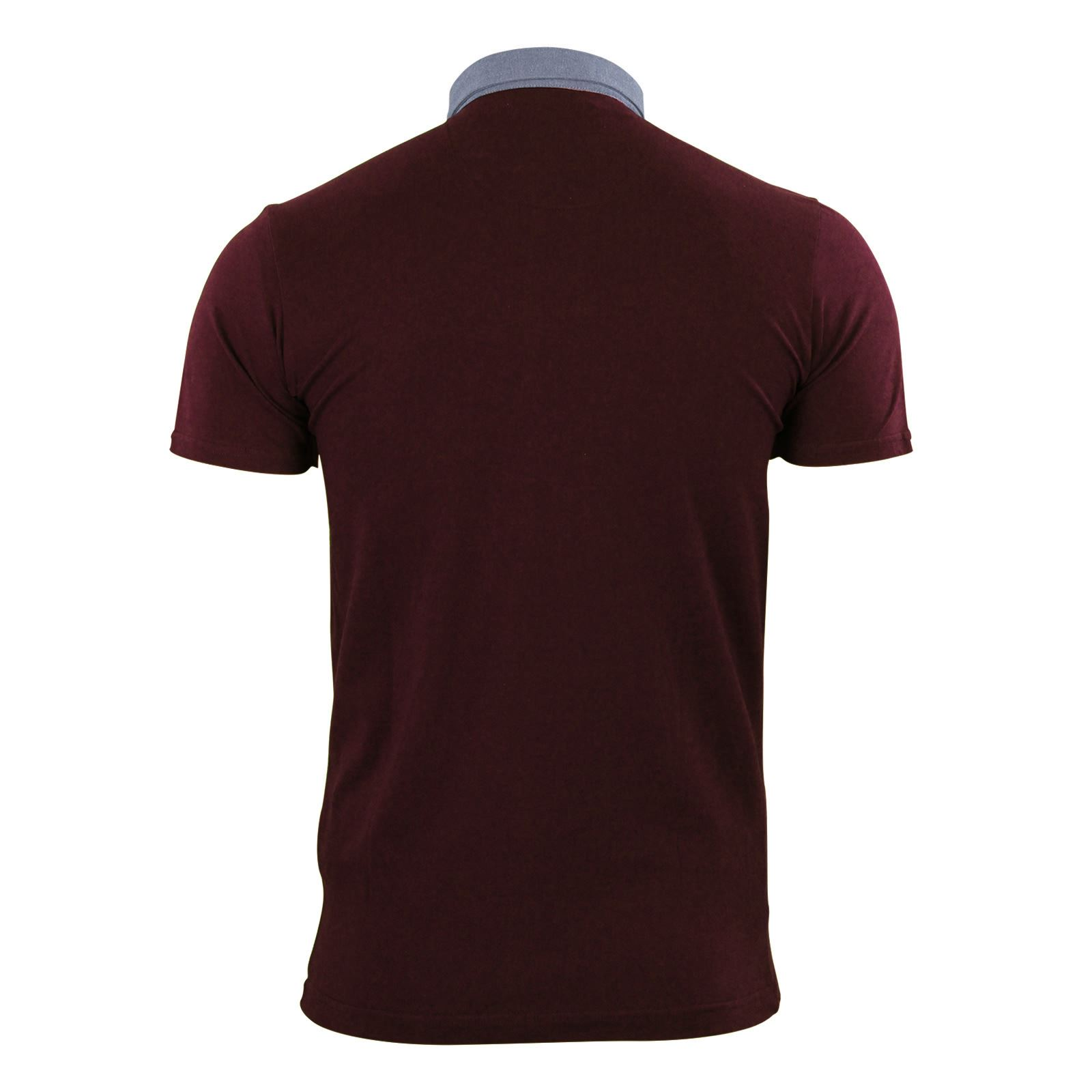 Brave-Soul-Glover-Mens-Polo-T-Shirt-Cotton-Collared-Short-Sleeve-Casual-Top thumbnail 3