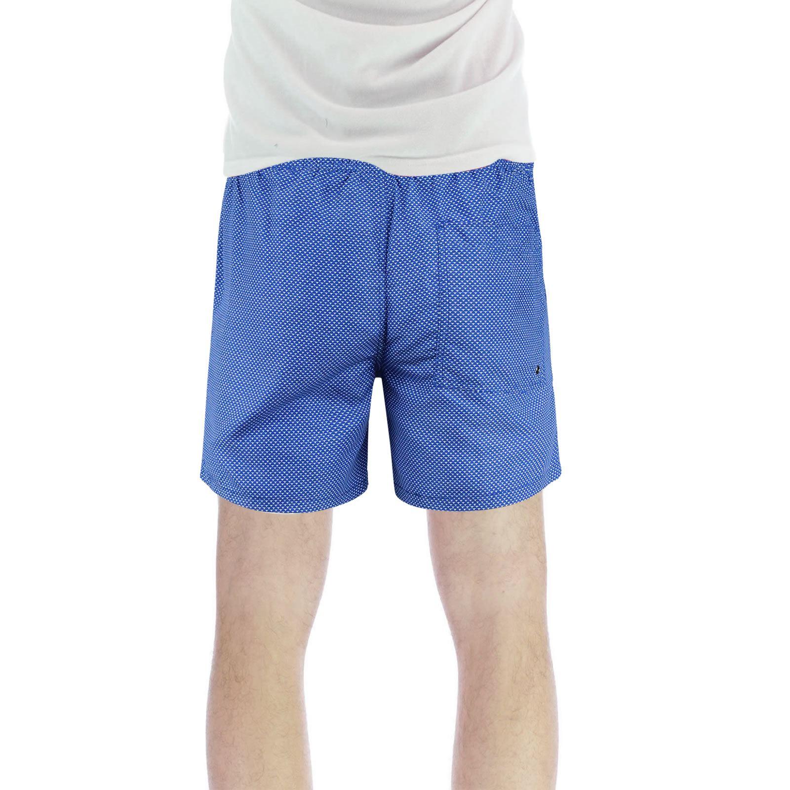 Brave-Soul-Henderson-Homme-Shorts-De-Bain-Geo-Print-Natation-Ete-Trunks miniature 3
